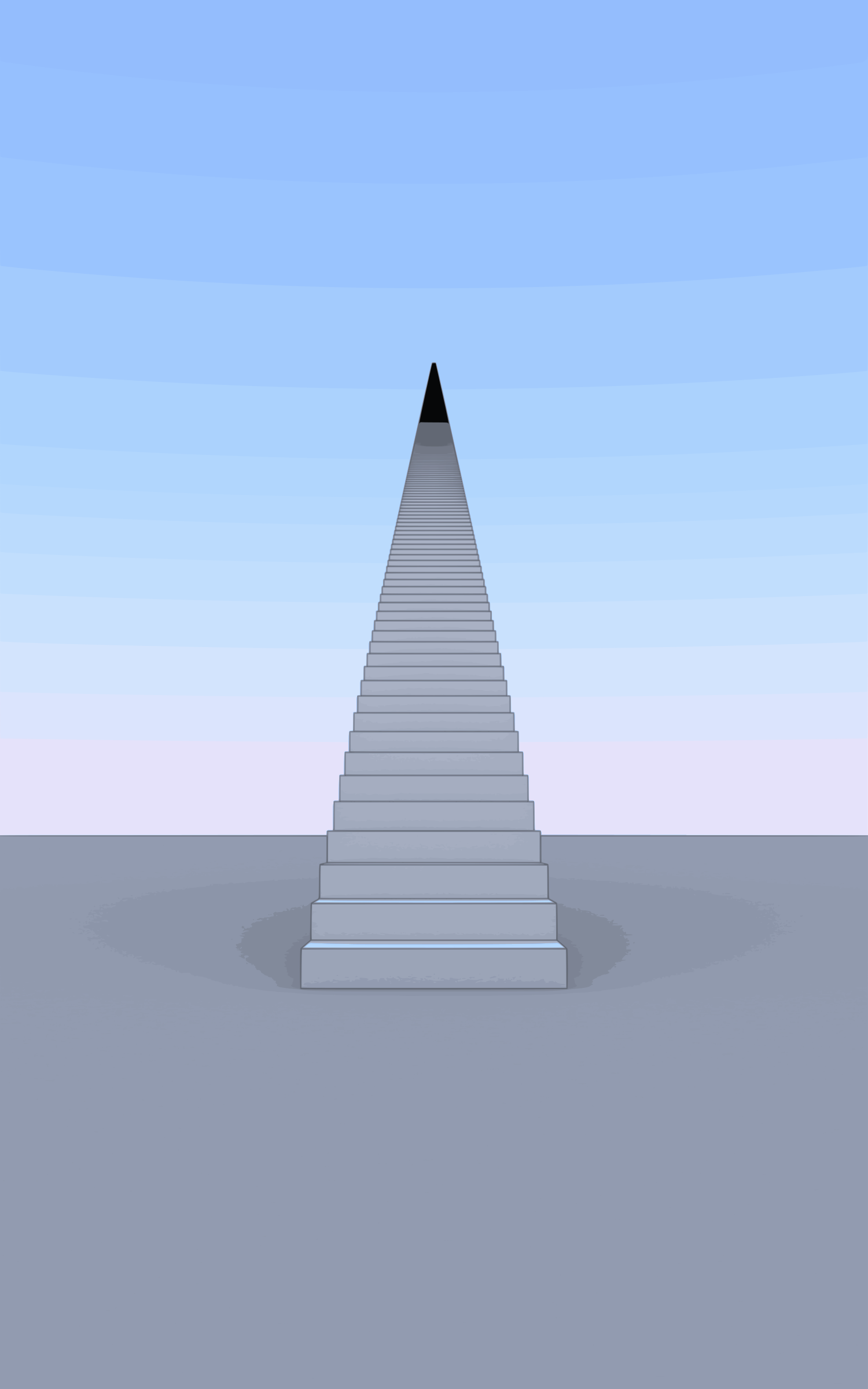 1000 Stairs vectorized (higher resolution) by photofree.ga