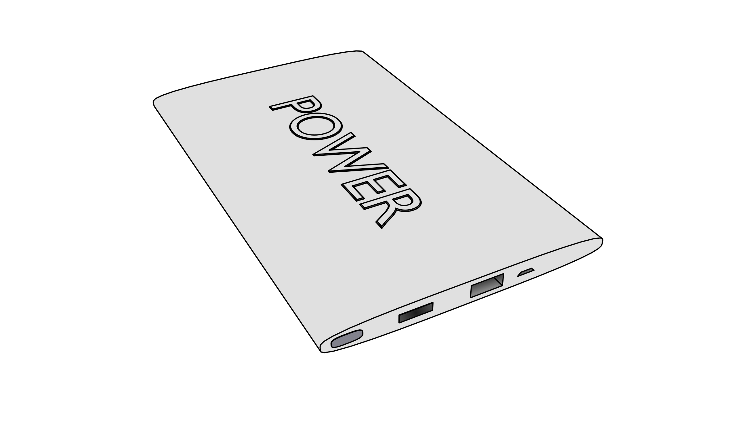 3D power bank by photofree.ga