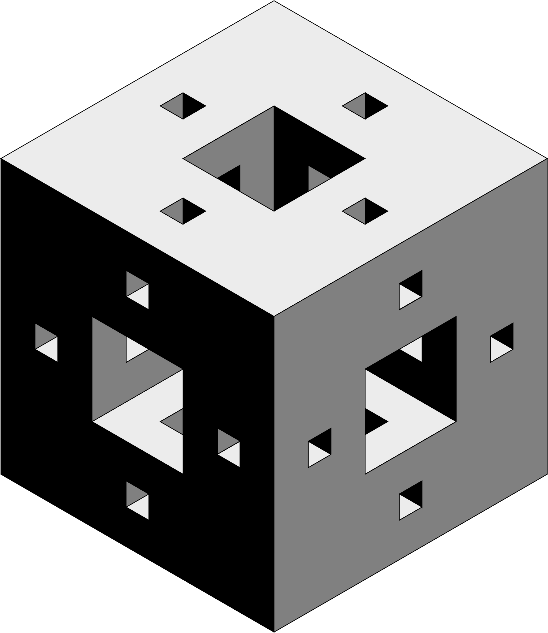 cube with holes by jarda