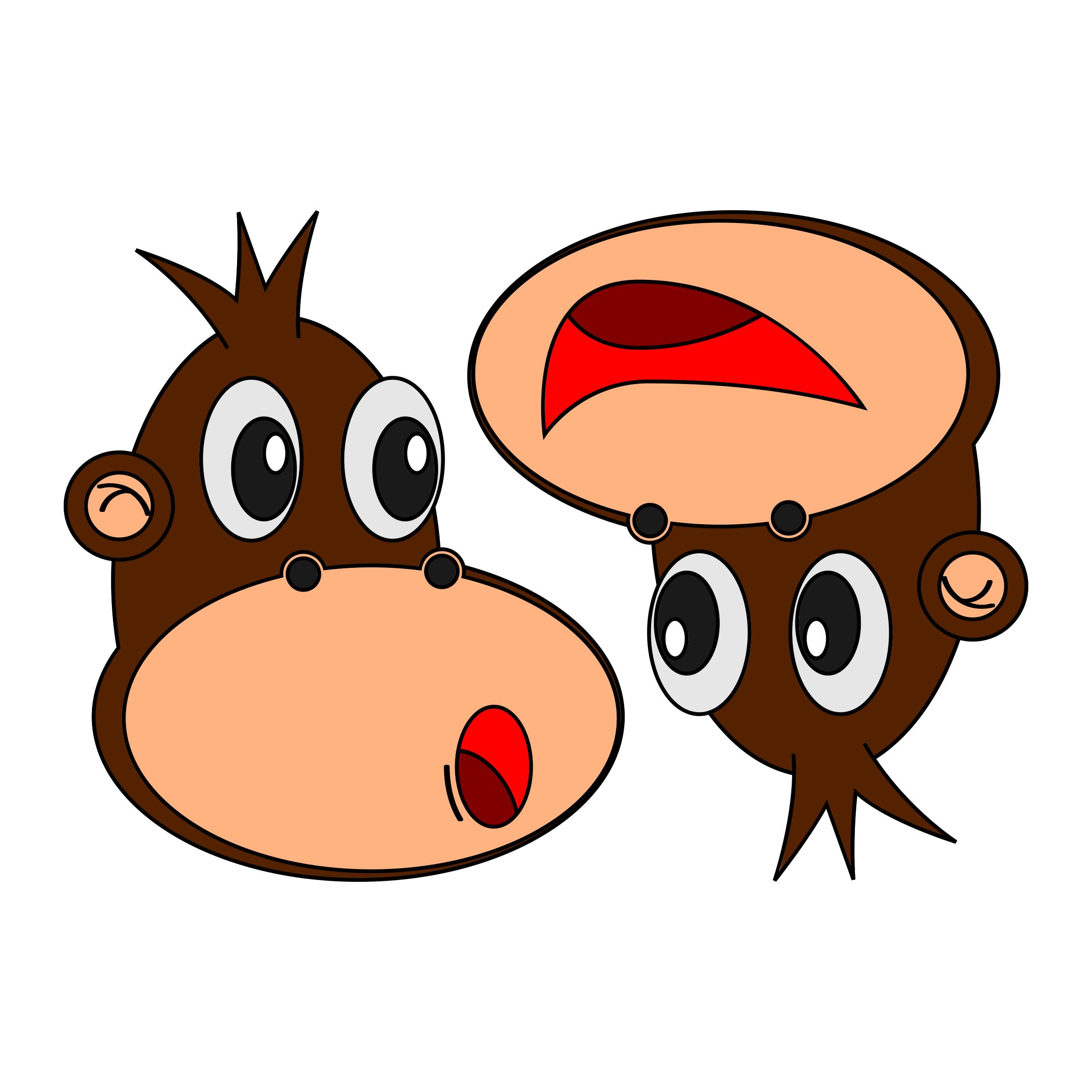 Monkey Expressions by belthsazar_liem