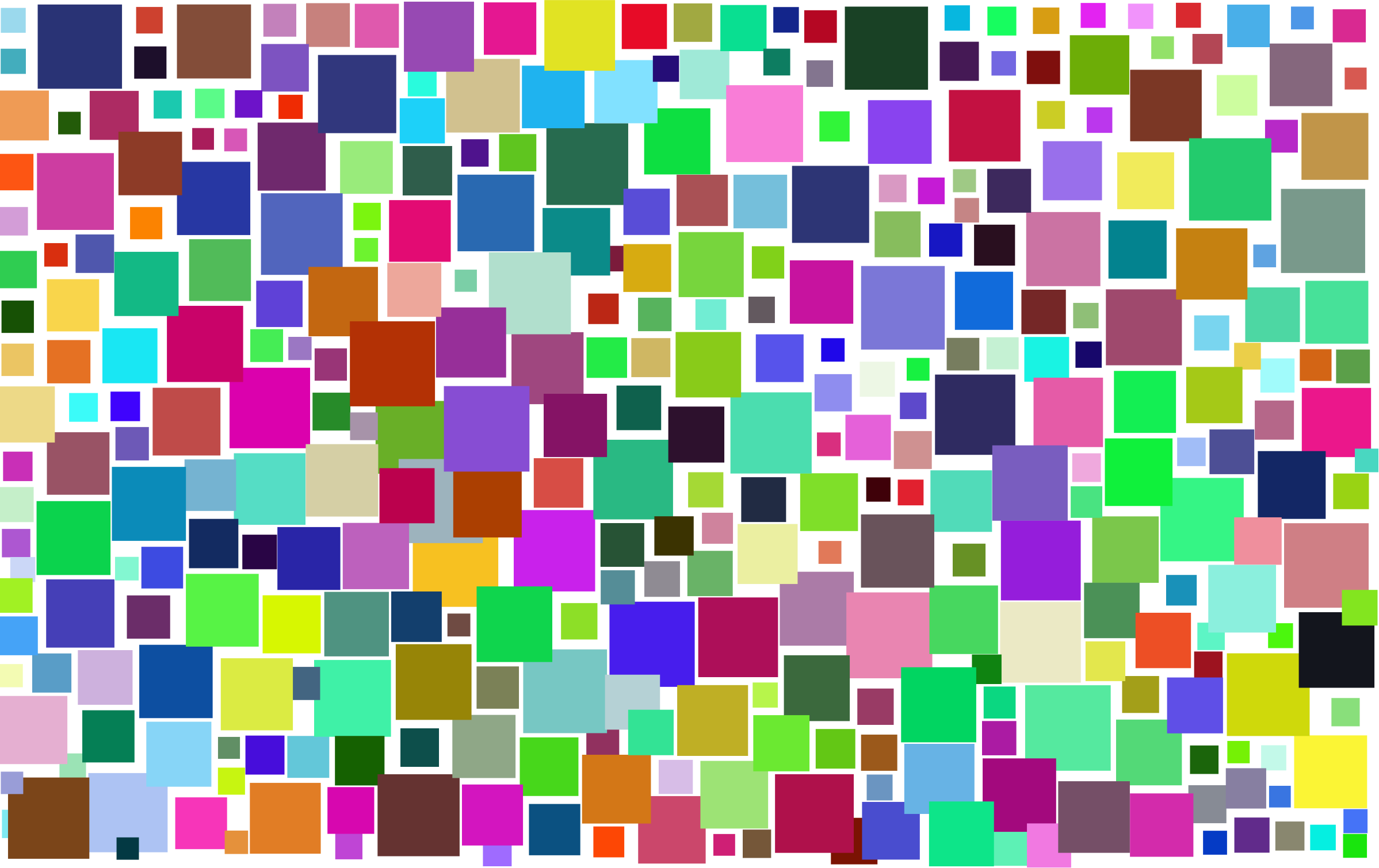 Prismatic Abstract Squares by GDJ