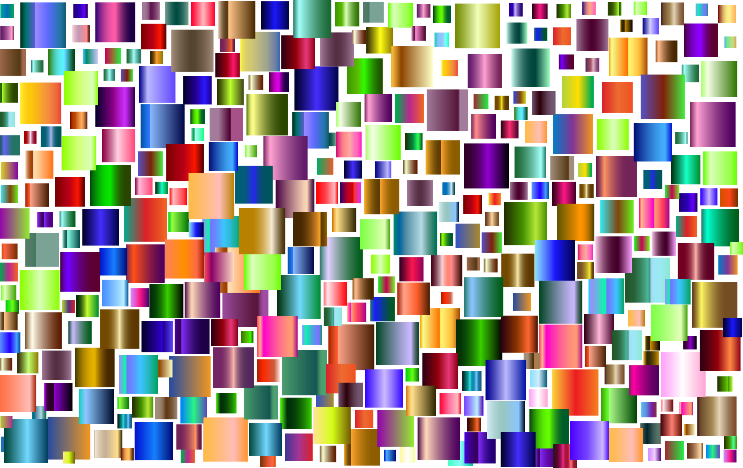 Prismatic Abstract Squares 2 by GDJ