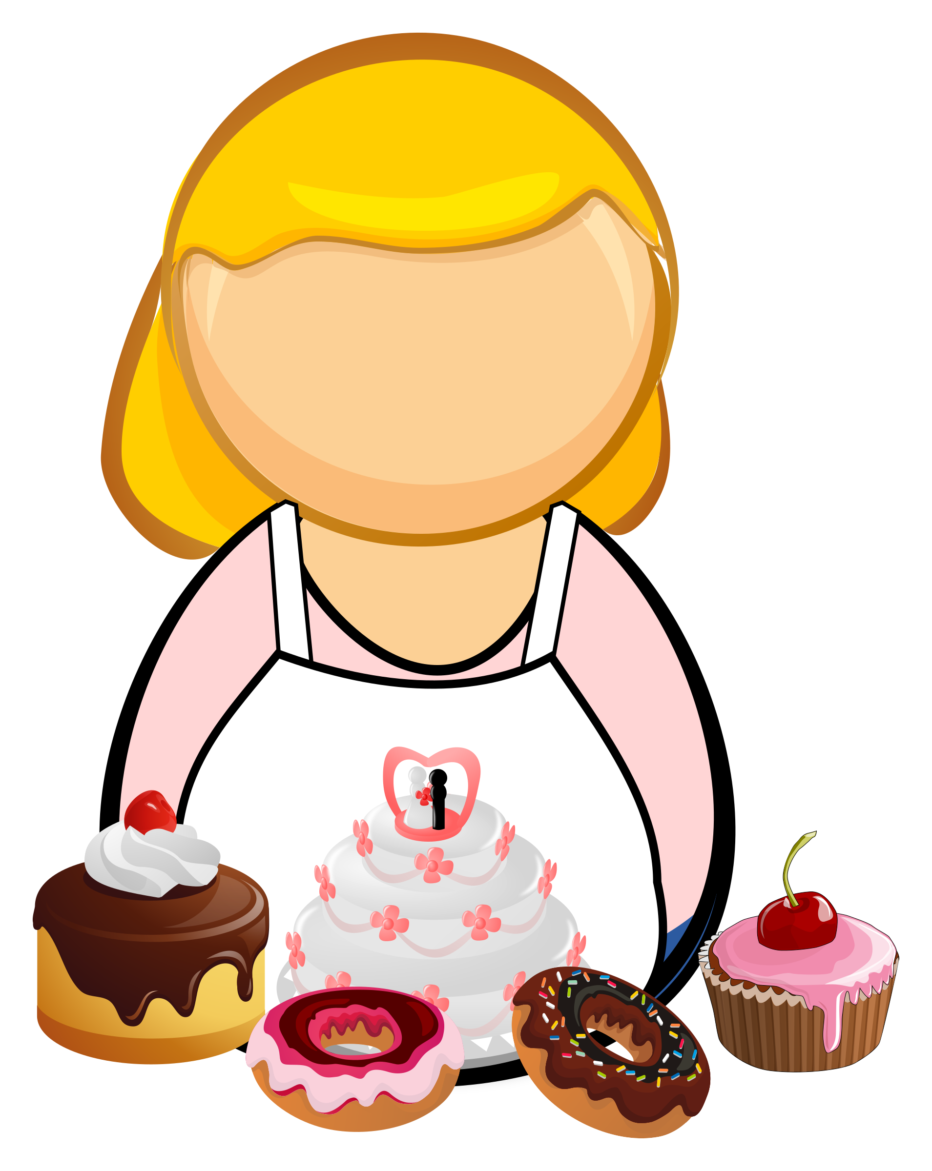 Confectioner, pastry-cook by Juhele
