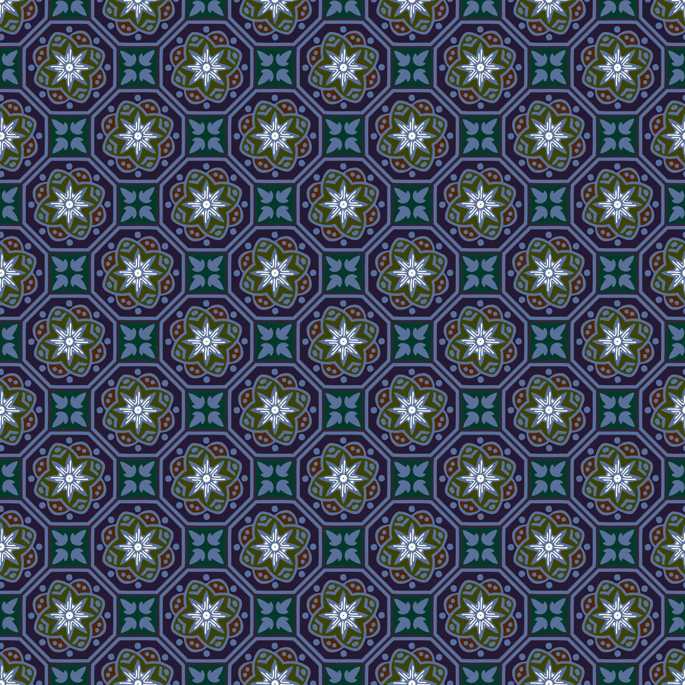 Background pattern 119 (colour) by Firkin