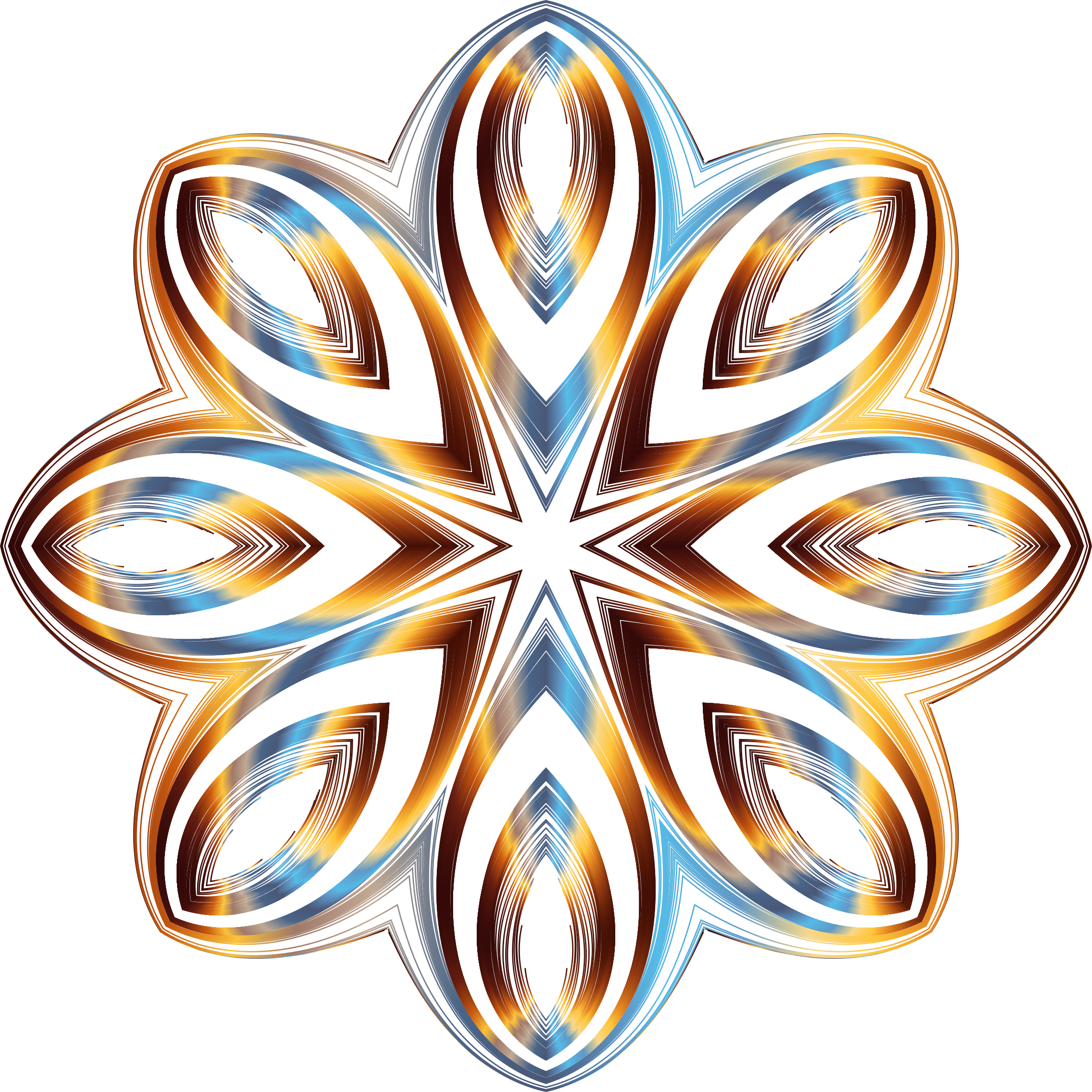 Line Art No Background : Clipart chromatic geometric line art no background