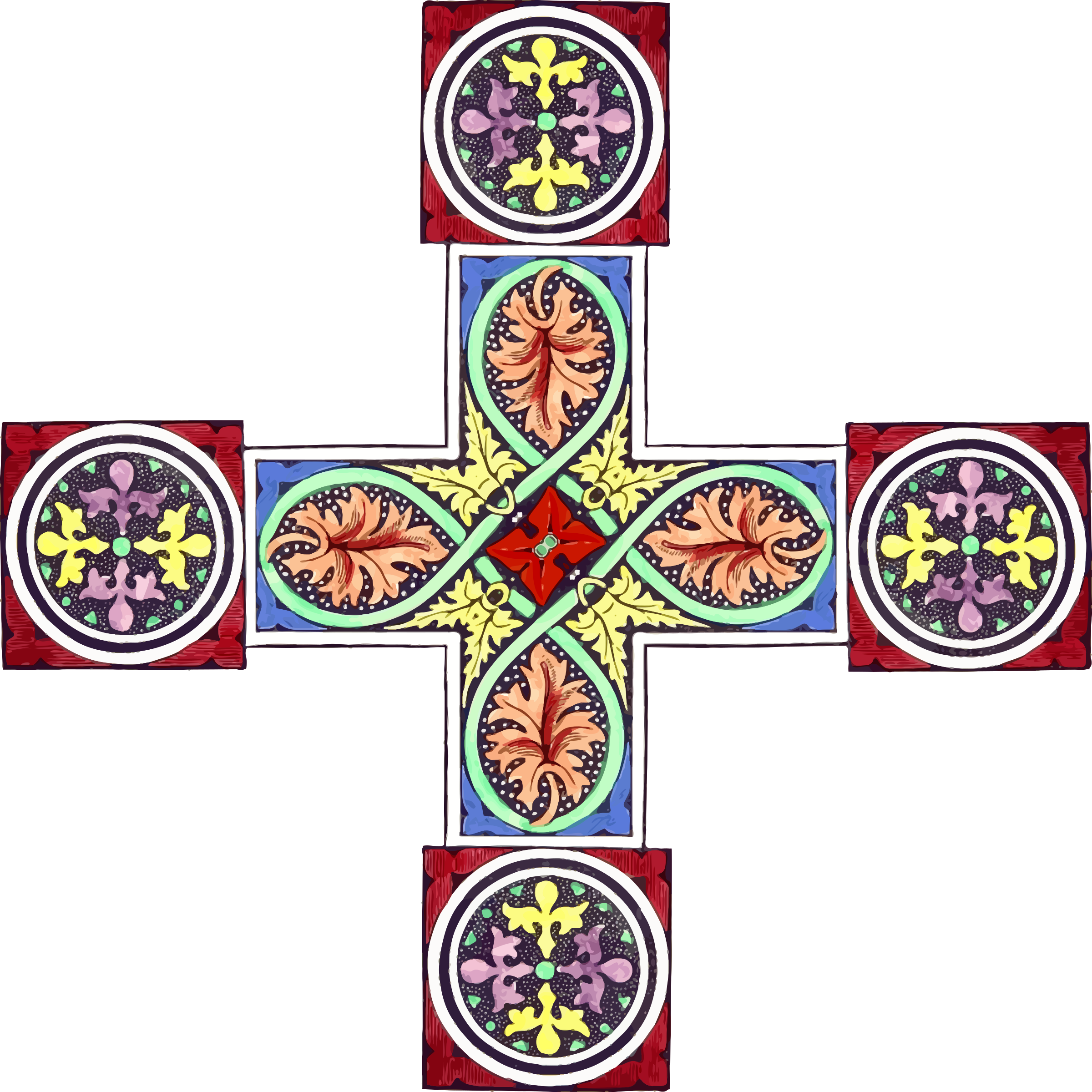 Ornamental cross 2 by Firkin