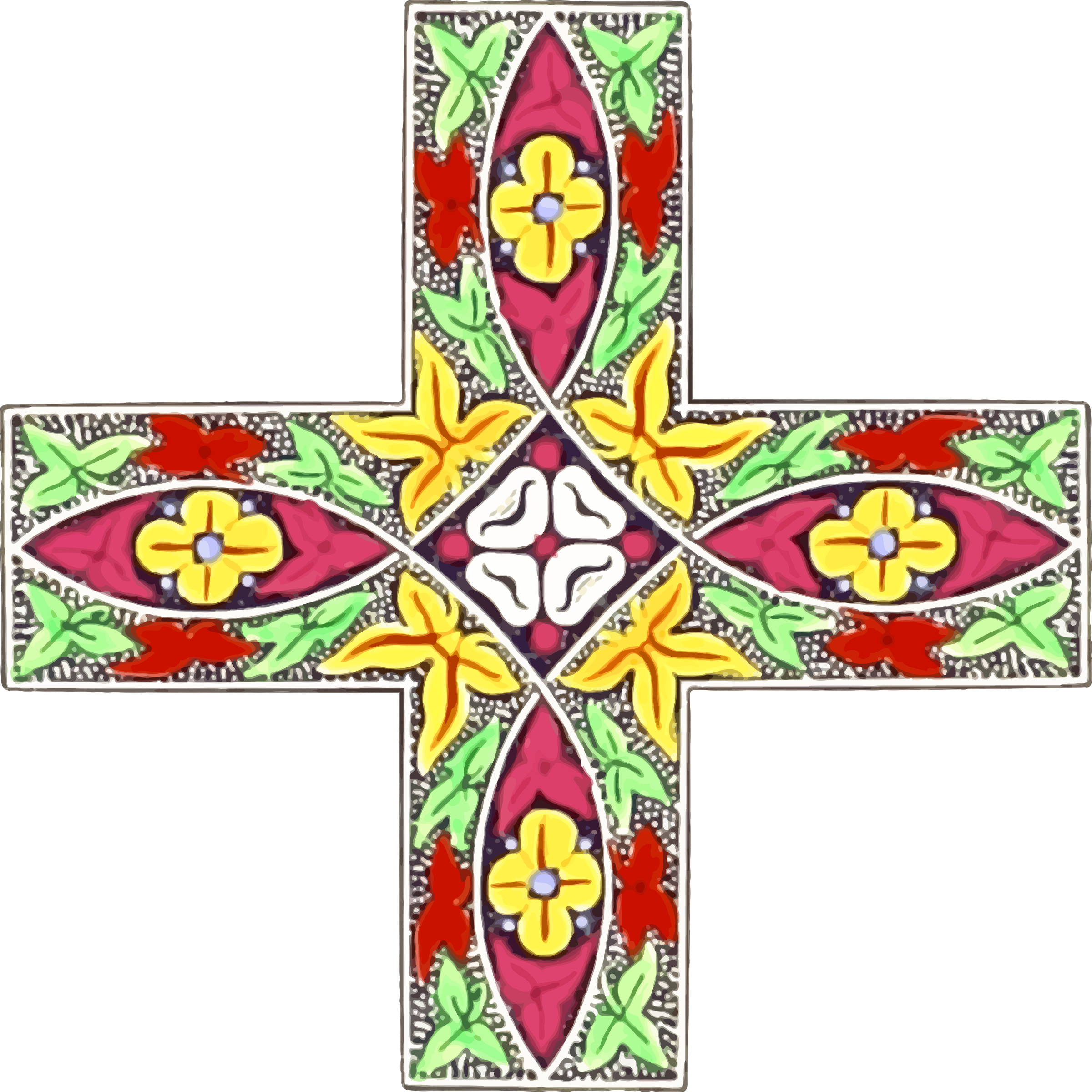 Ornamental cross by Firkin