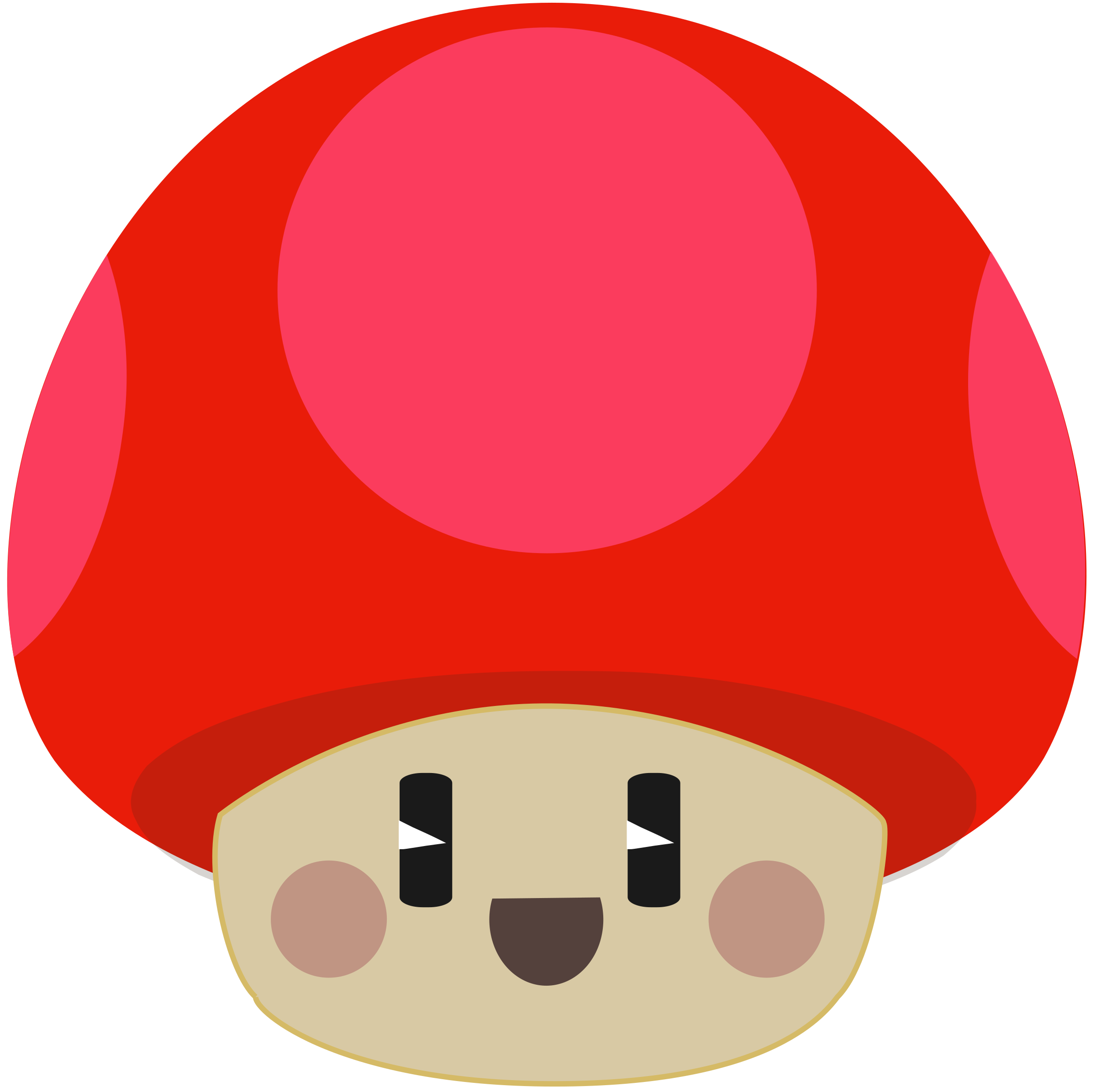 Cute happy mushroom by anarres