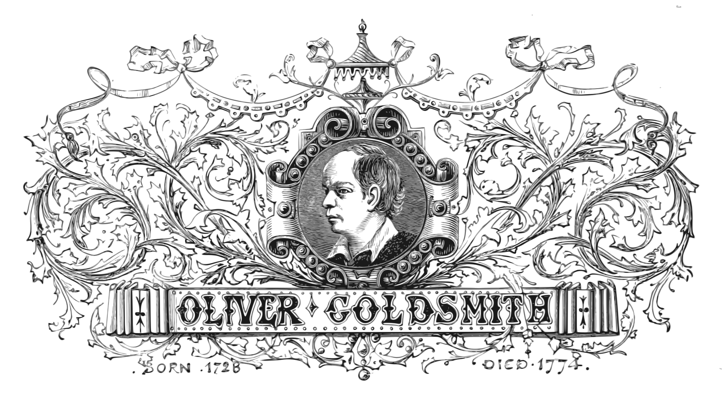 Oliver Goldsmith by Firkin
