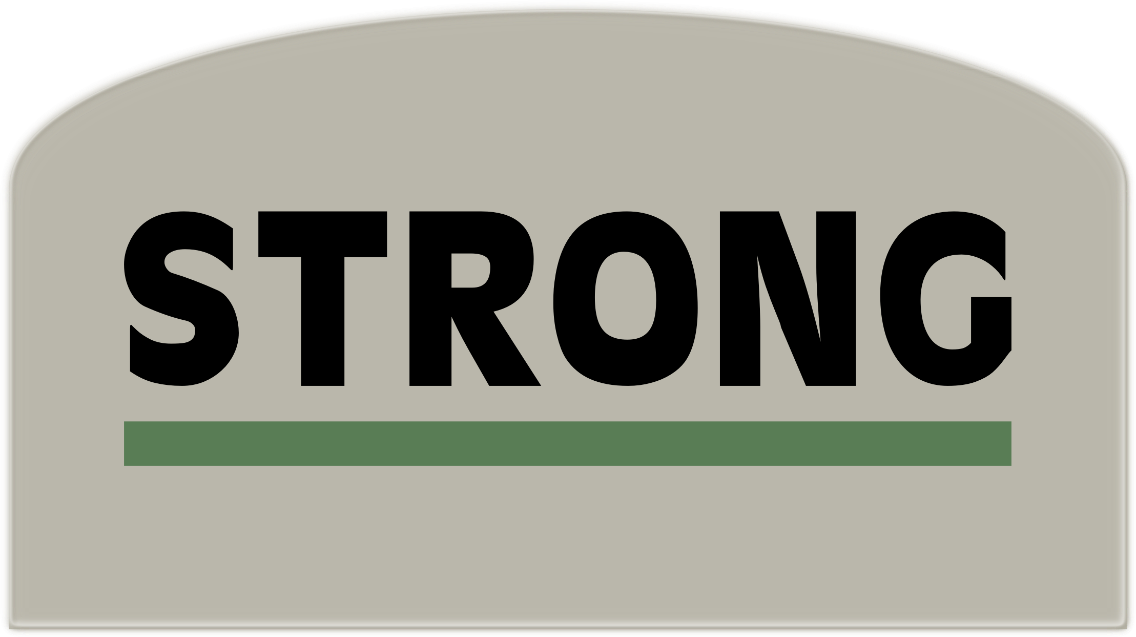 'Strong' sign by Arvin61r58