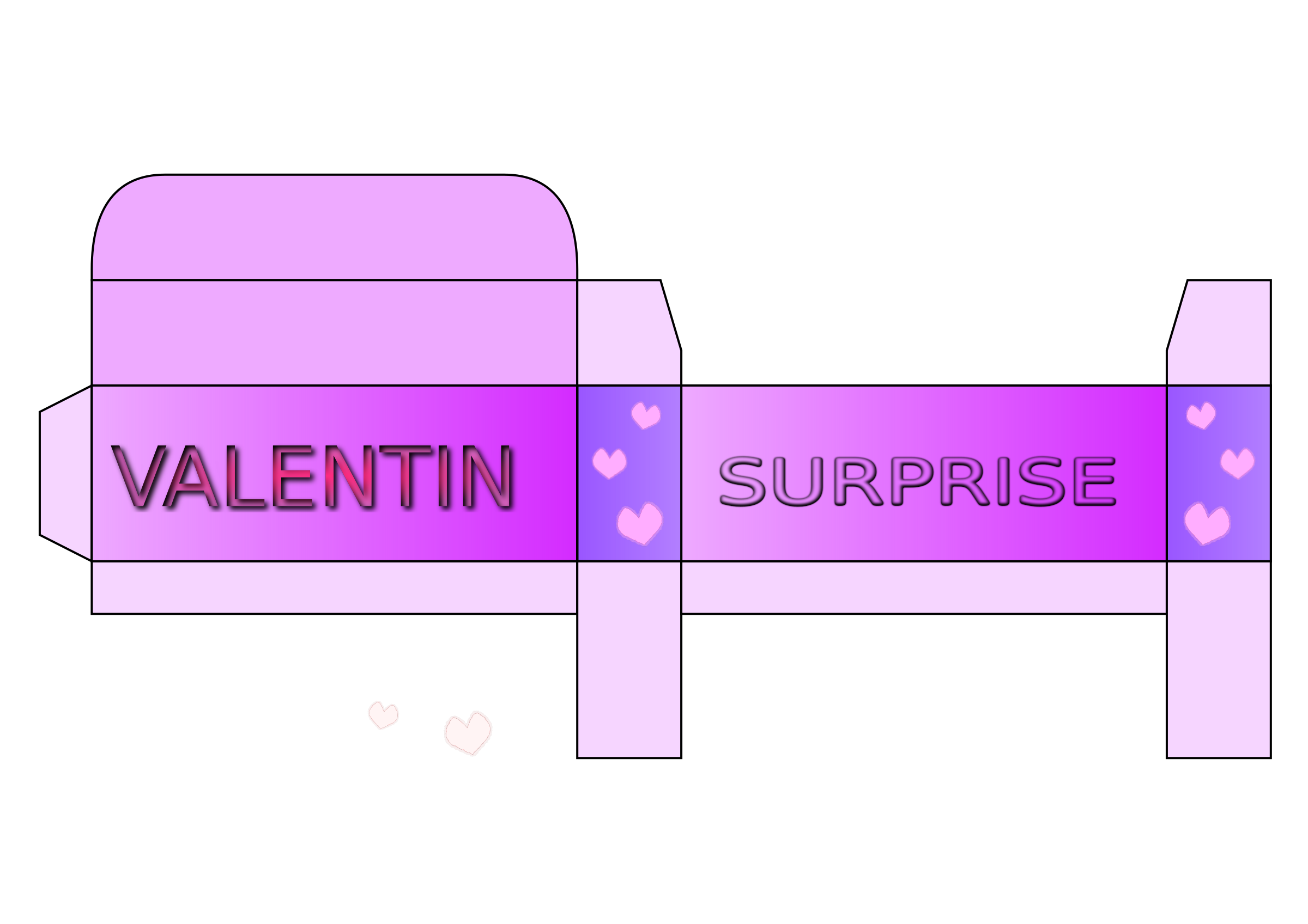 Valentin - surprise - box by 28victorydesign