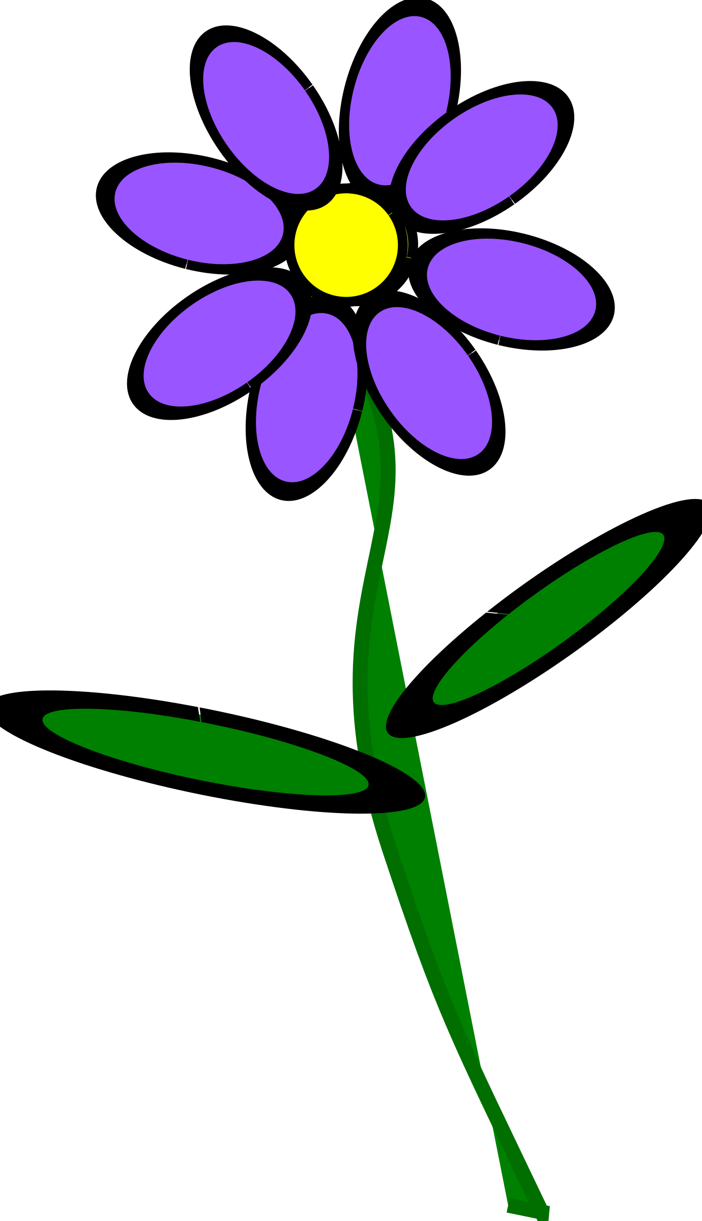 Flower 2 purple by BAJ
