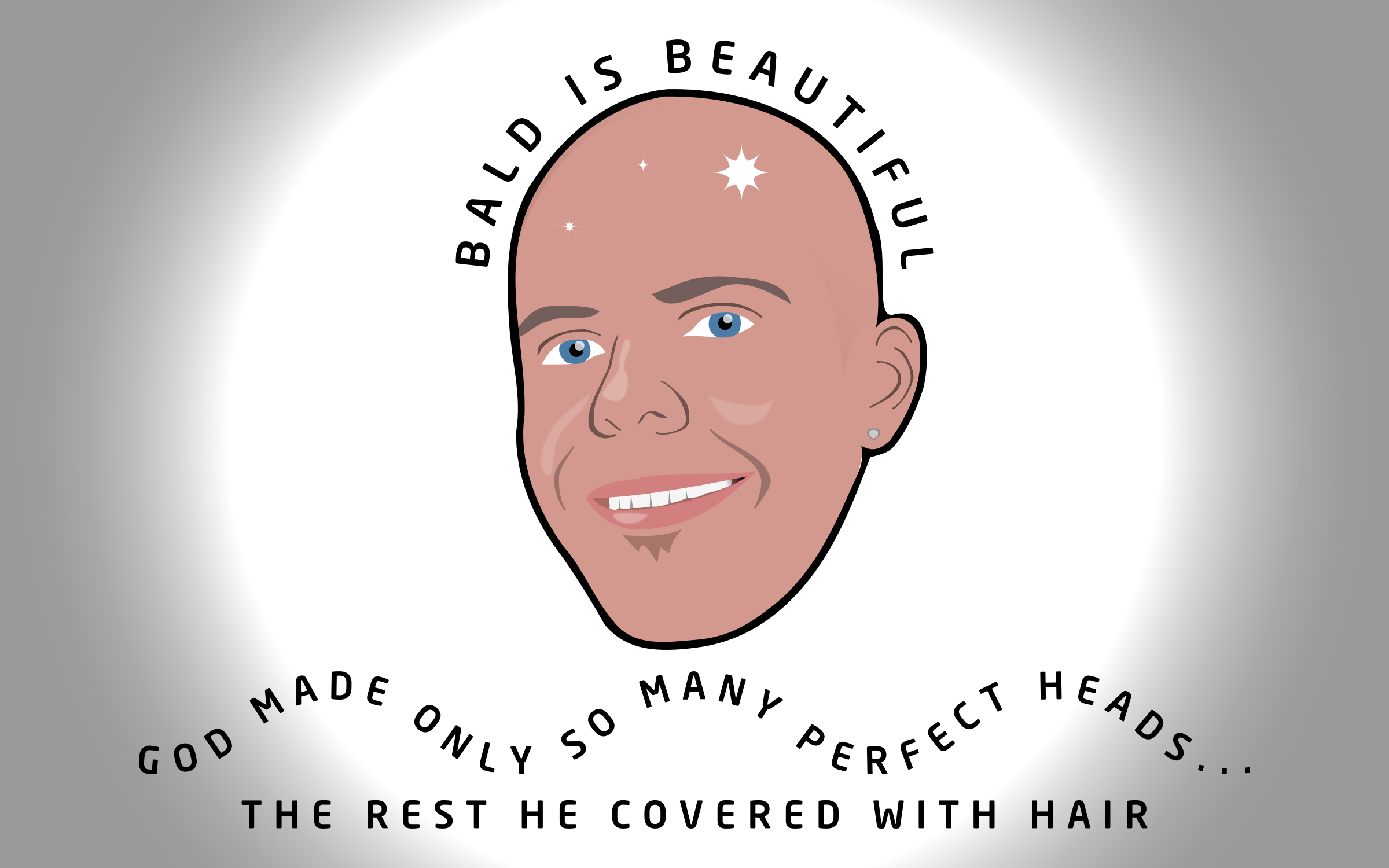 Bald Is Beautiful by GDJ