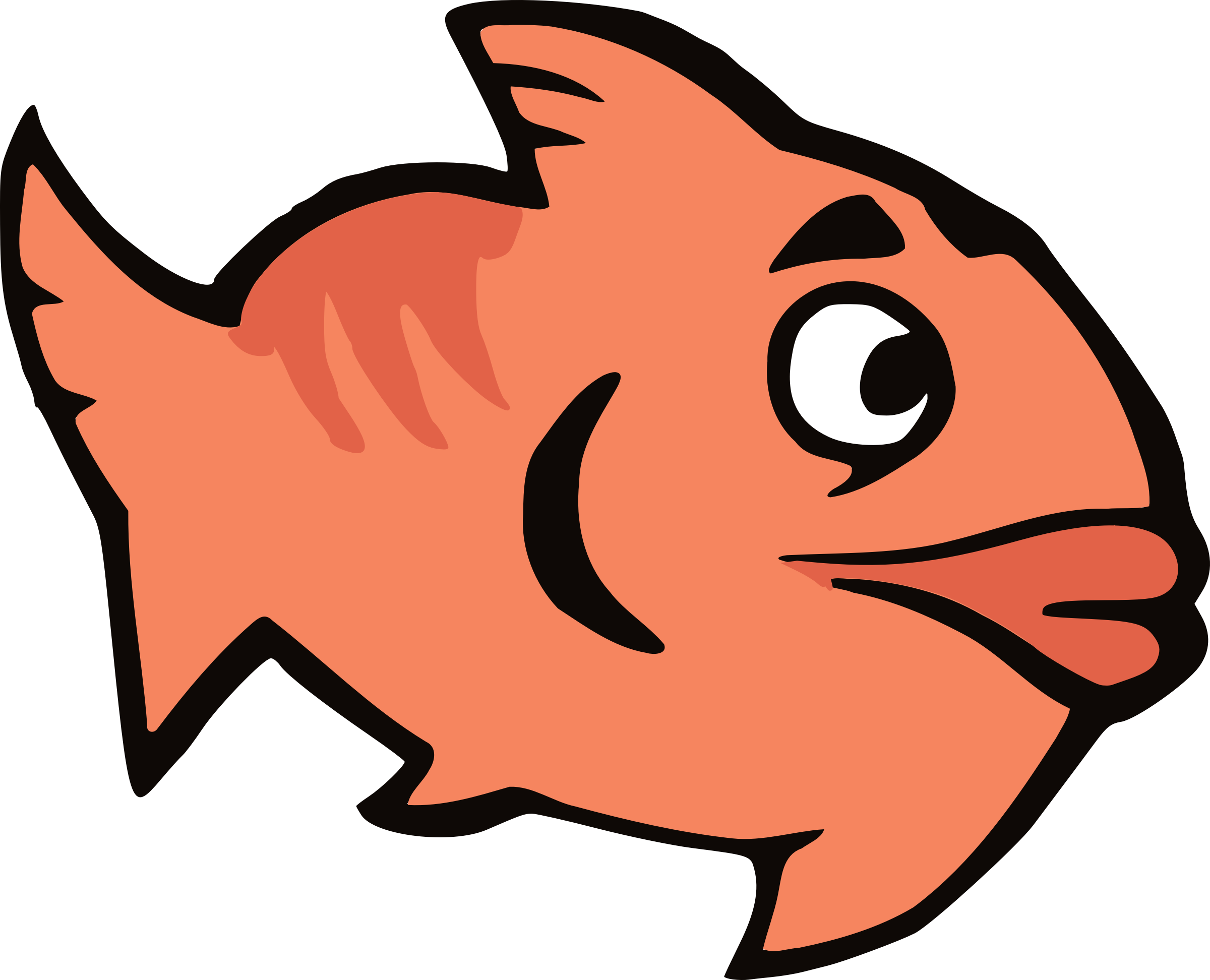 Cartoon Fish by Arvin61r58