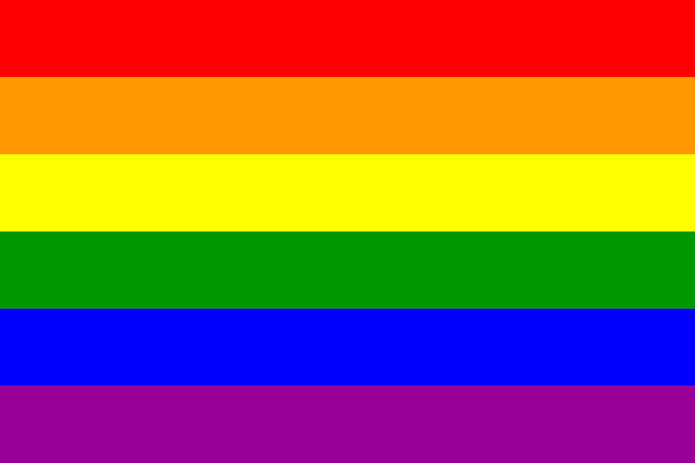 The Gay Pride Rainbow Flag by AdamStanislav
