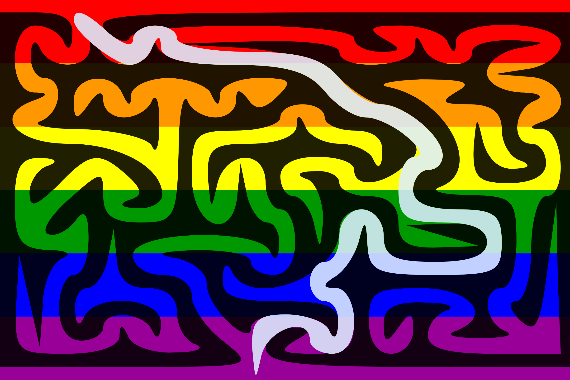 The Rainbow Flag Maze—Solution by AdamStanislav