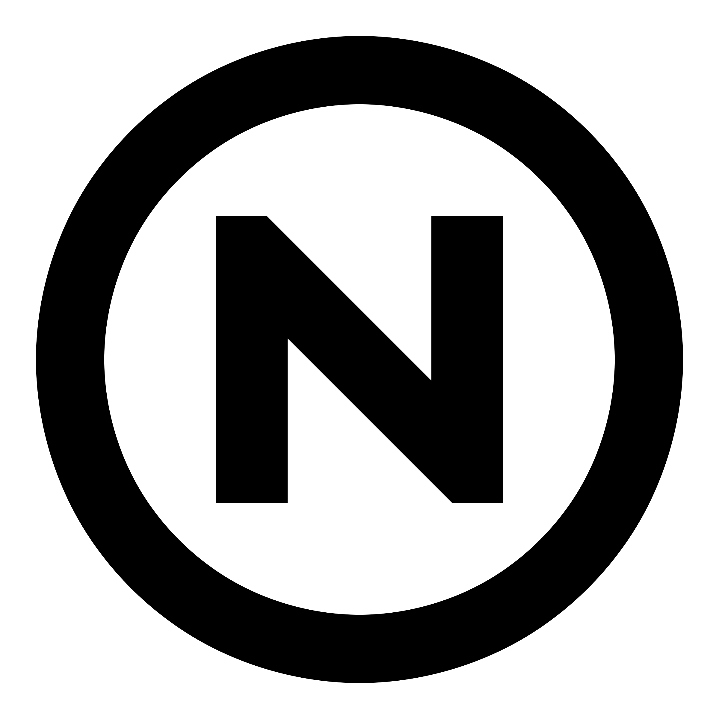 non-copyright restrictions symbol by Lazur URH