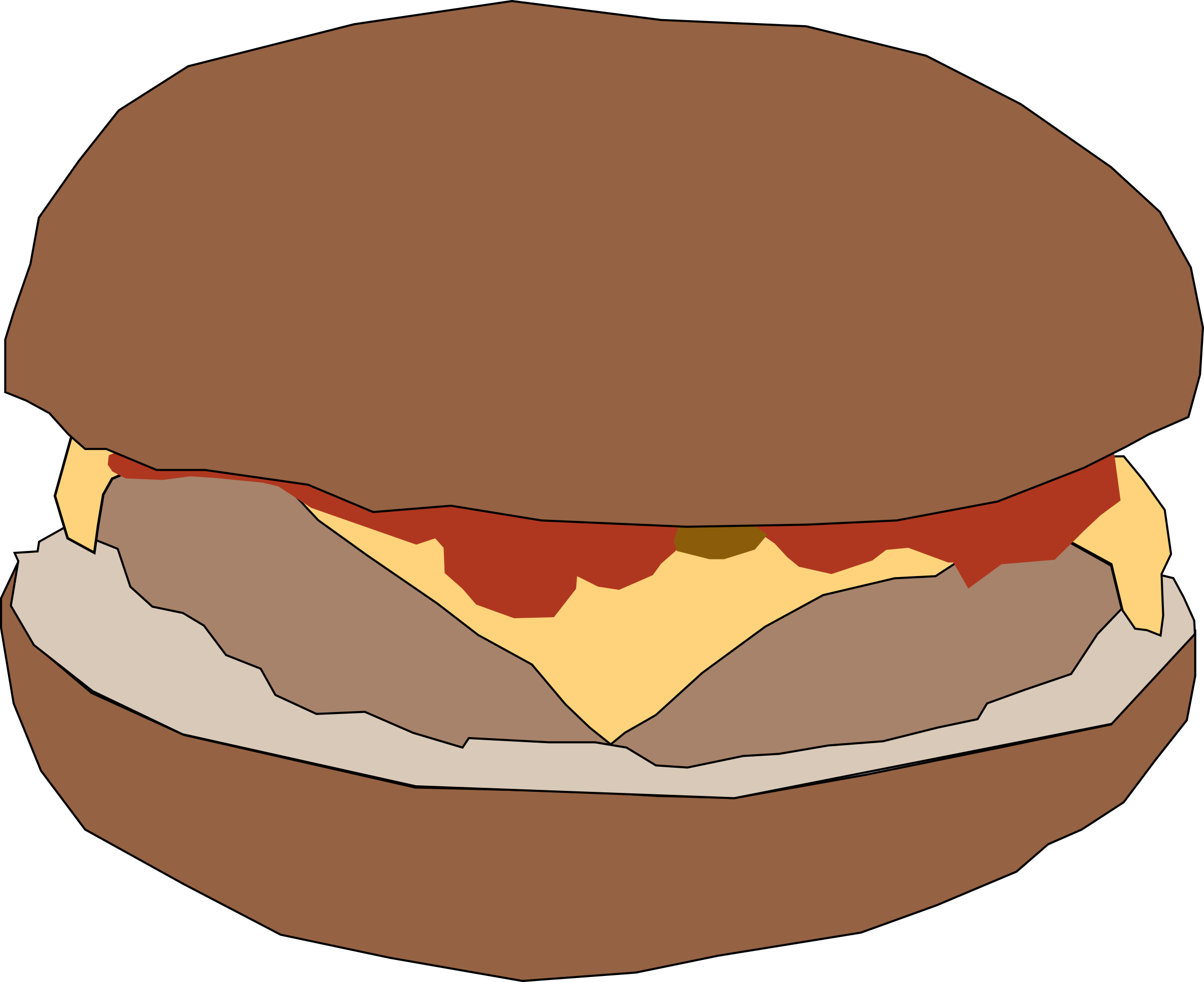 hamburger1 by Machovka