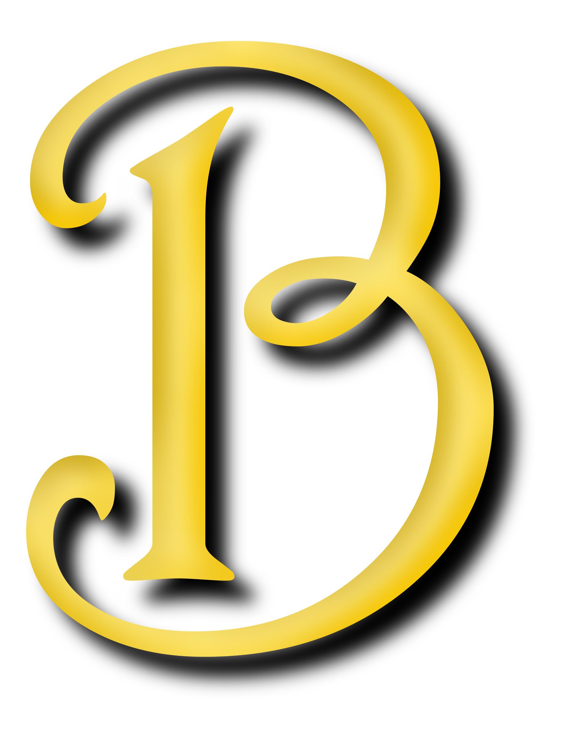 Alphabet 13, letter B by Firkin