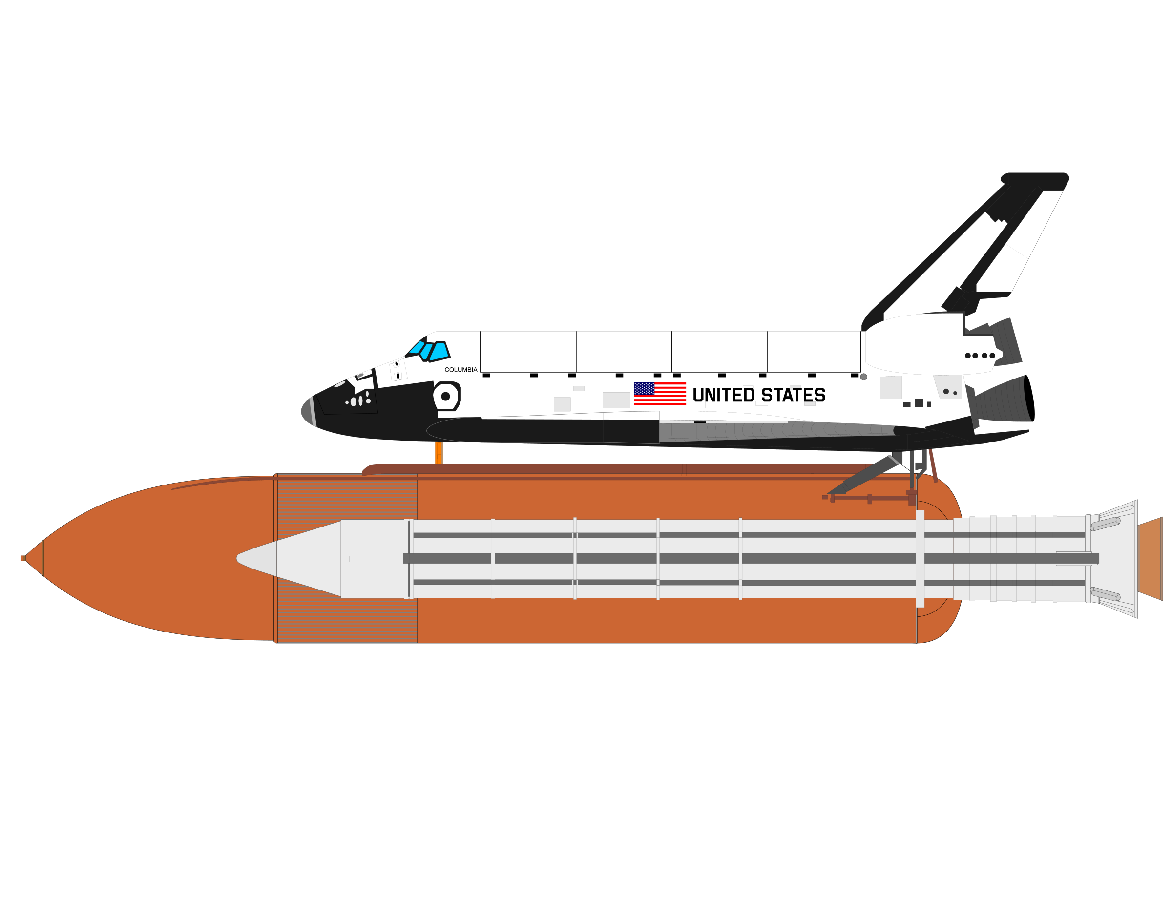 SPACE SHUTTLE 2 by charner1963