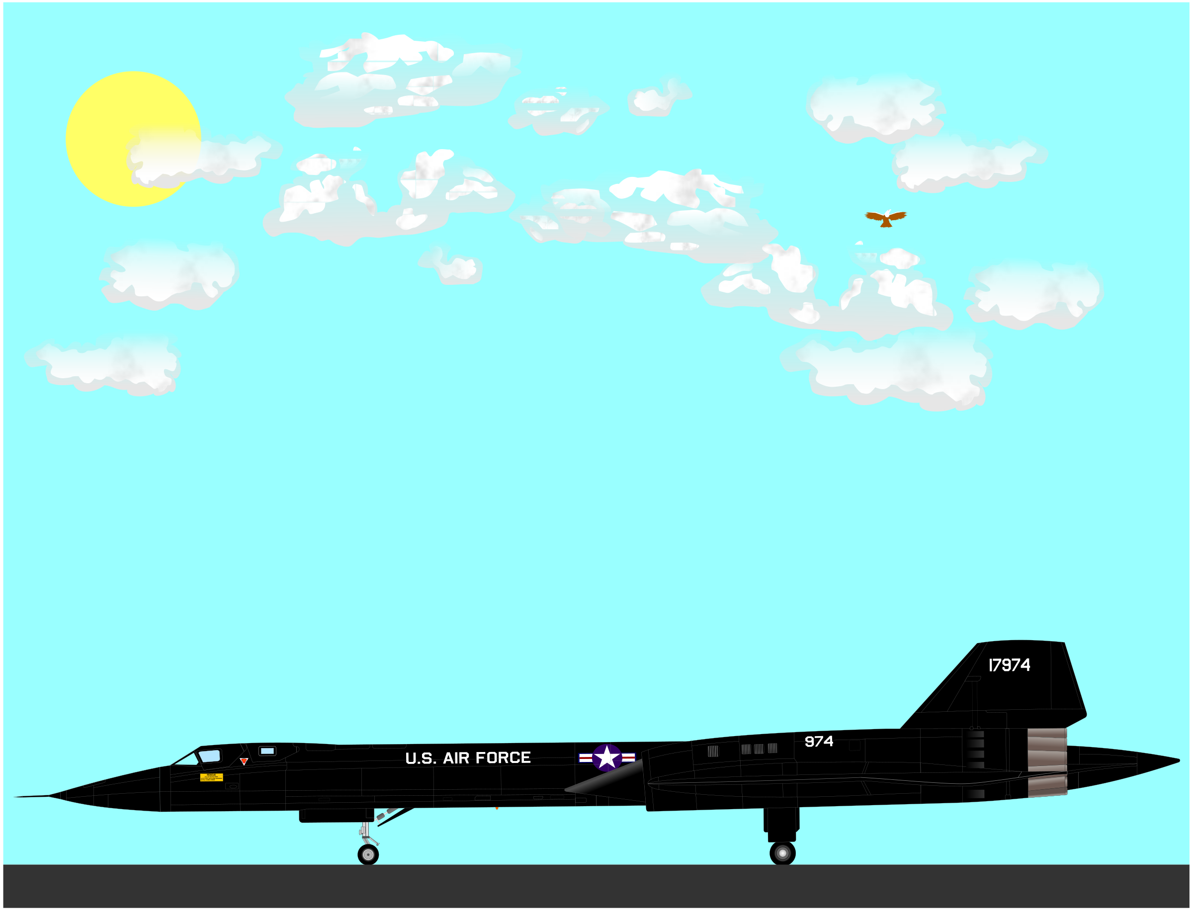 SR-71A by charner1963