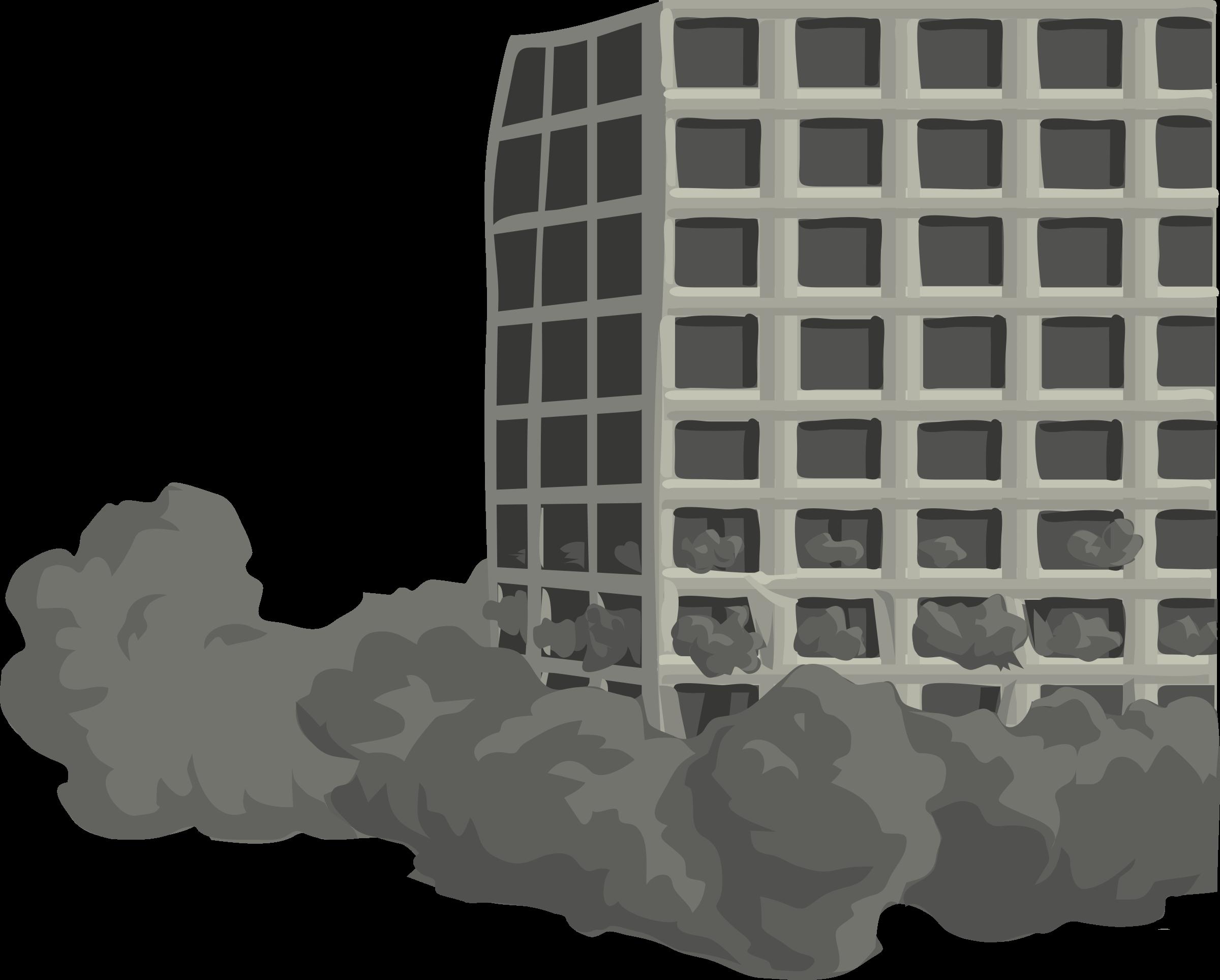Building Demolition Cartoon : Clipart architetto demolizione