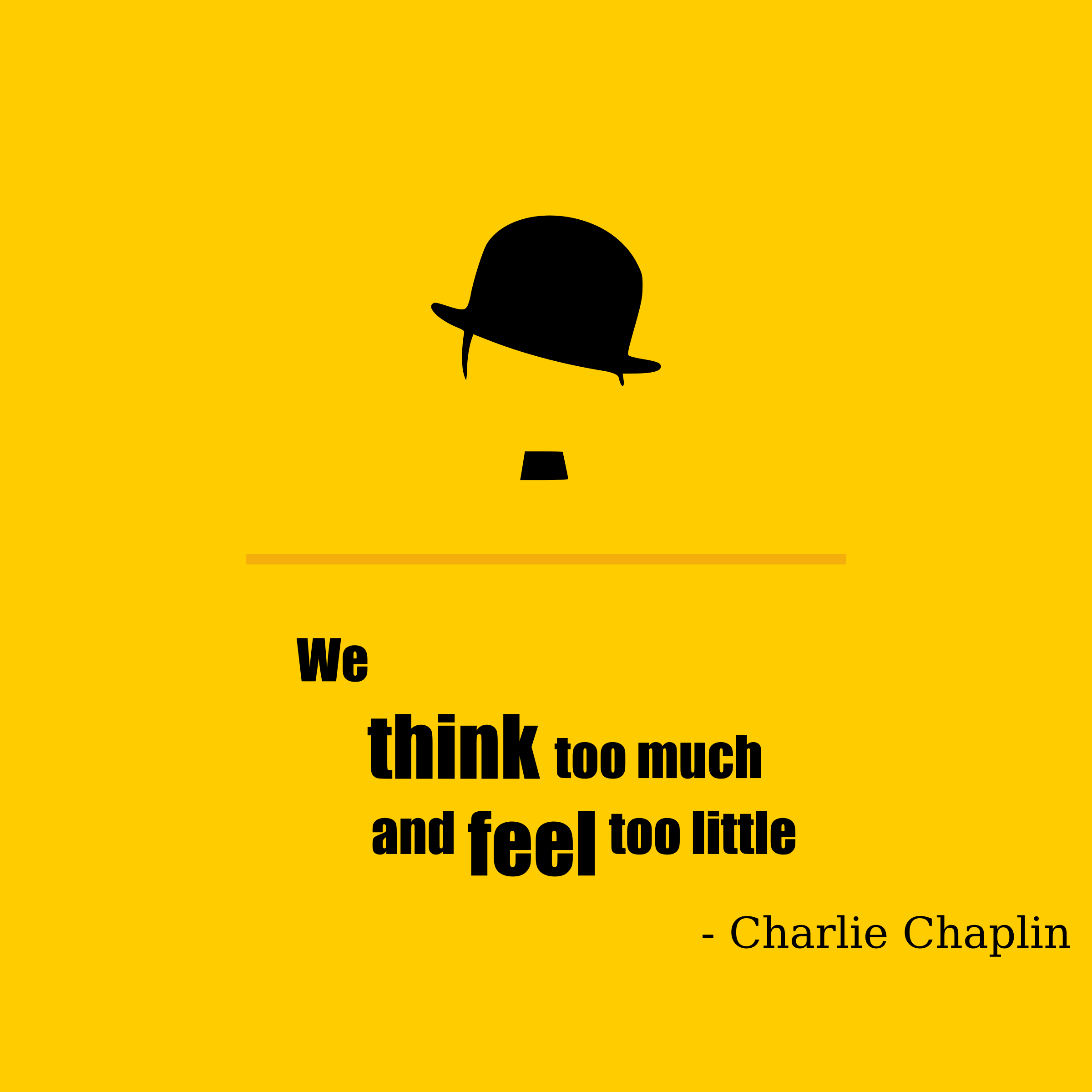 Charlie Chaplin quote by suthir