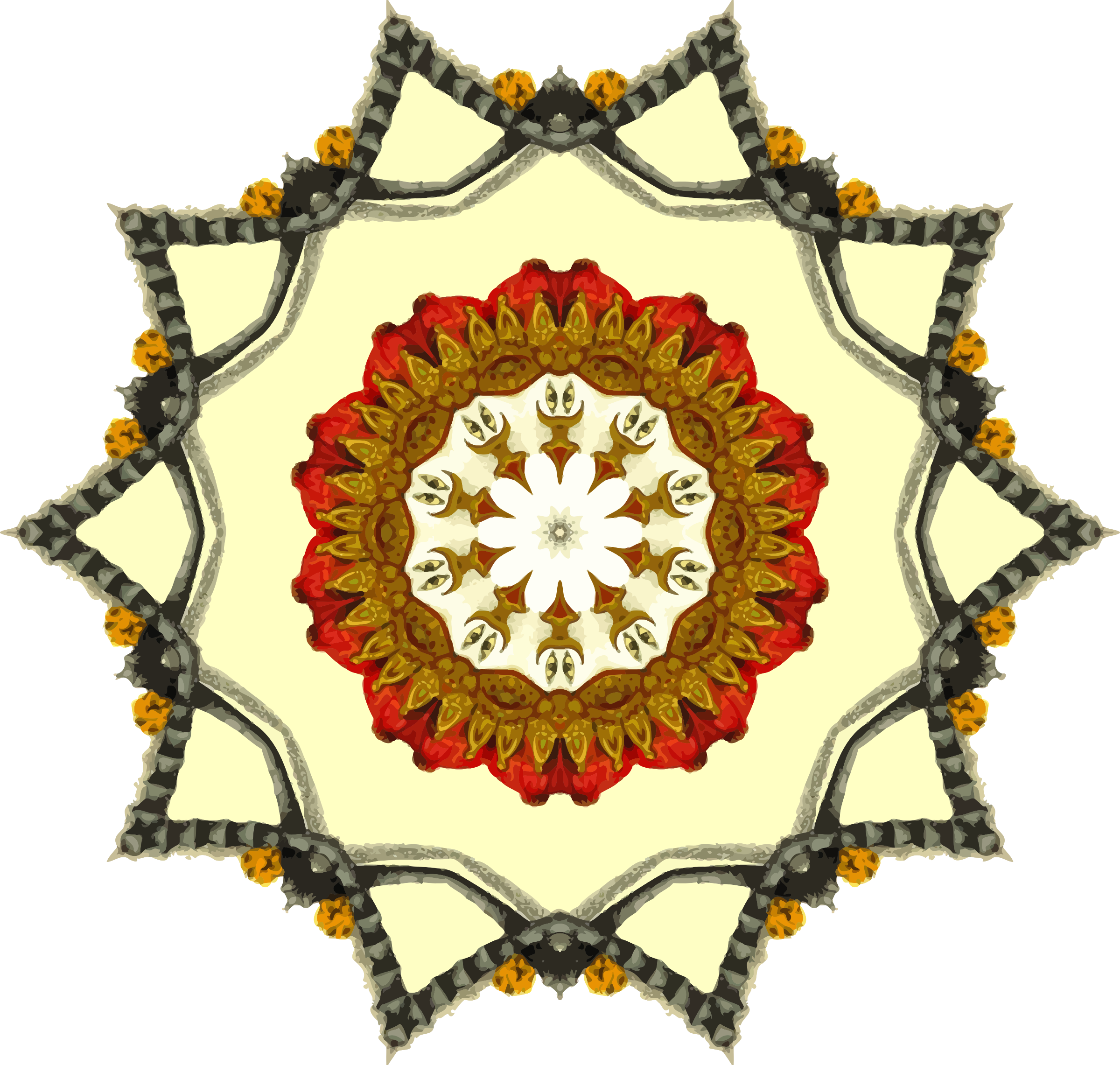 Mandala 9 by Firkin