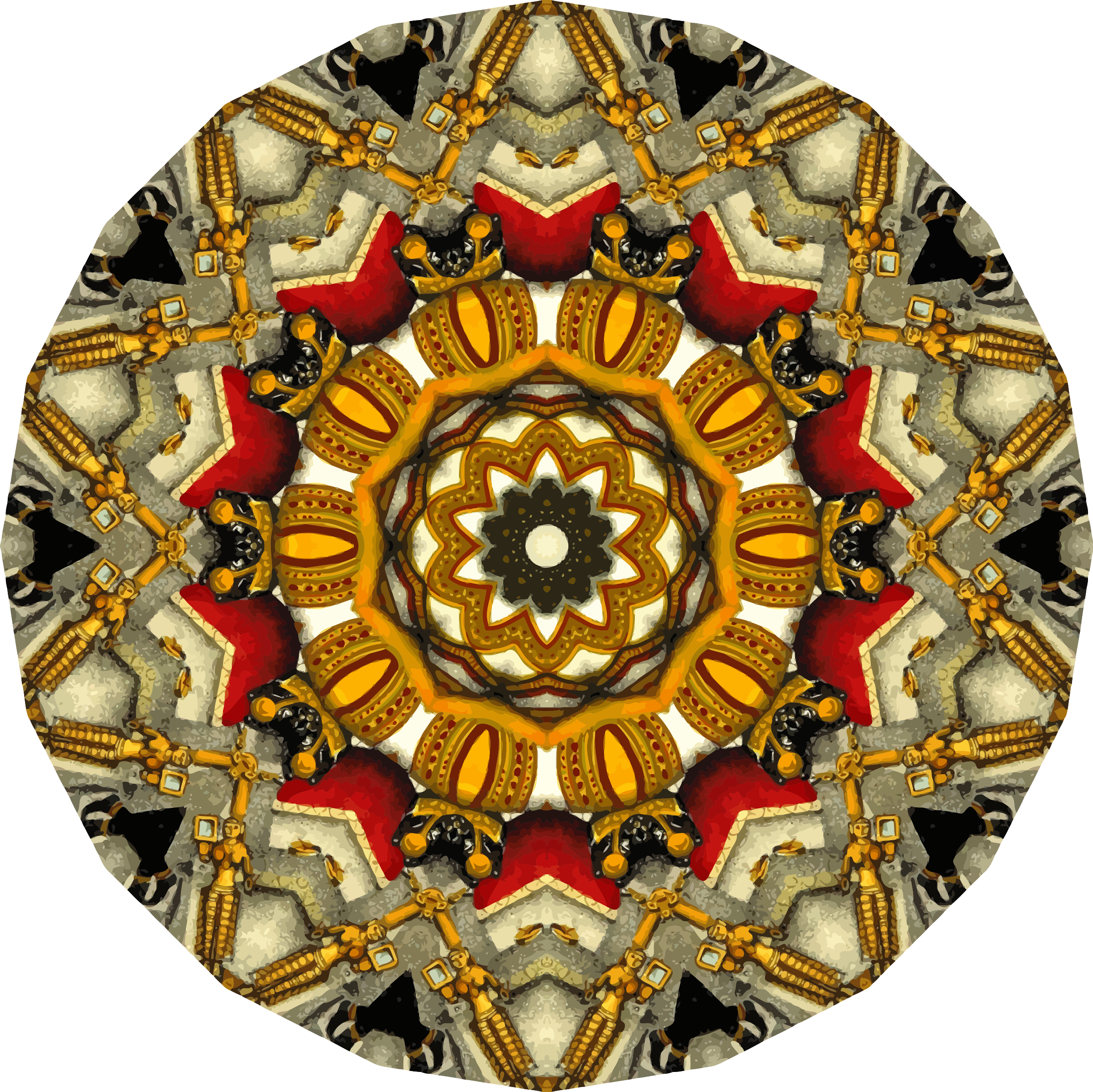 Mandala 13 by Firkin