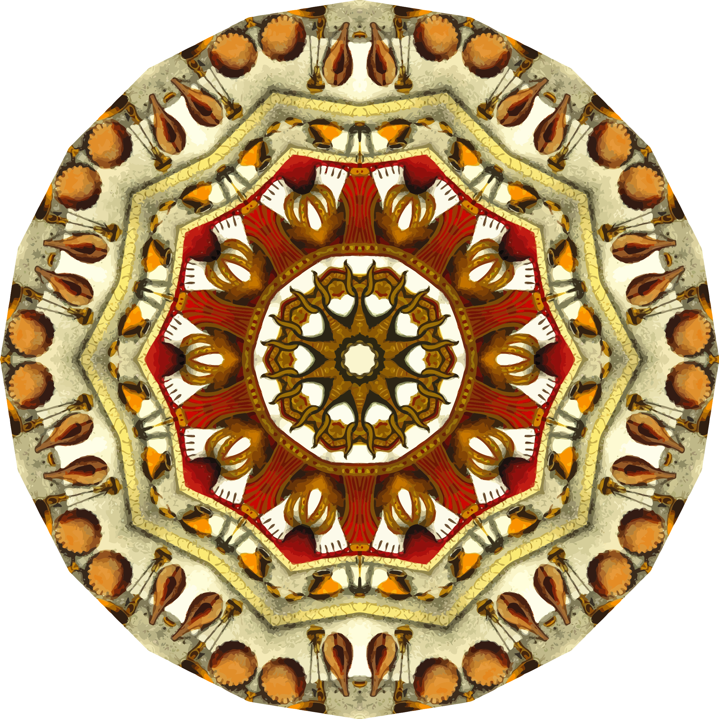 Mandala 14 by Firkin