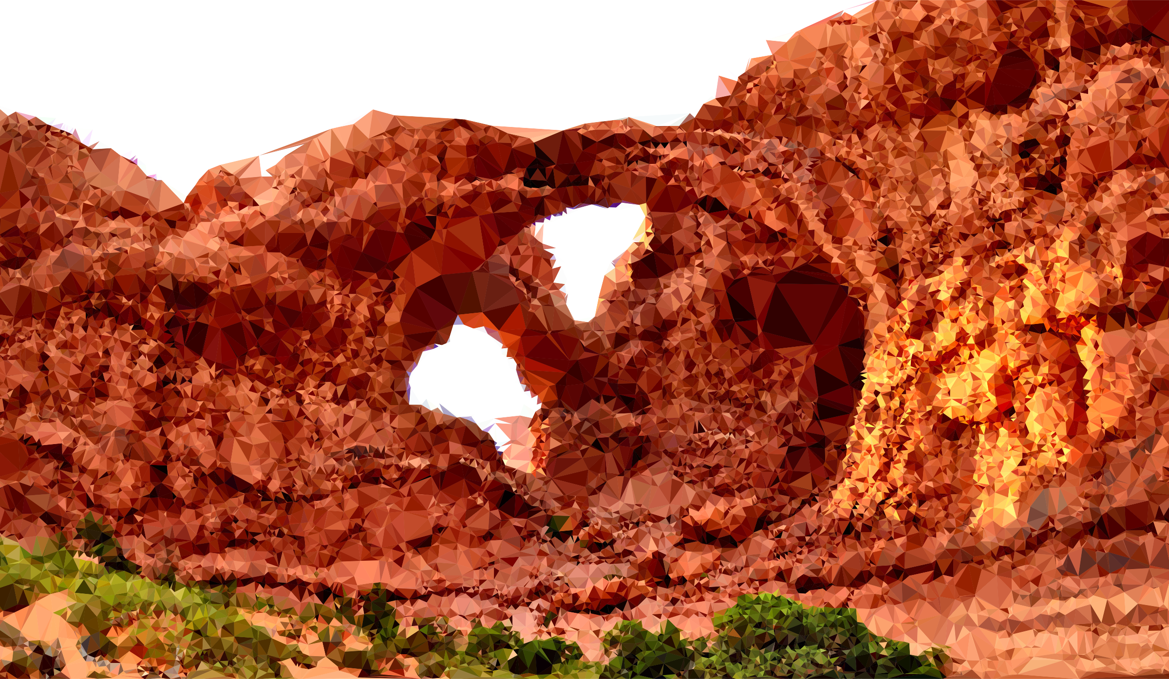 Low Poly Arches National Park by GDJ