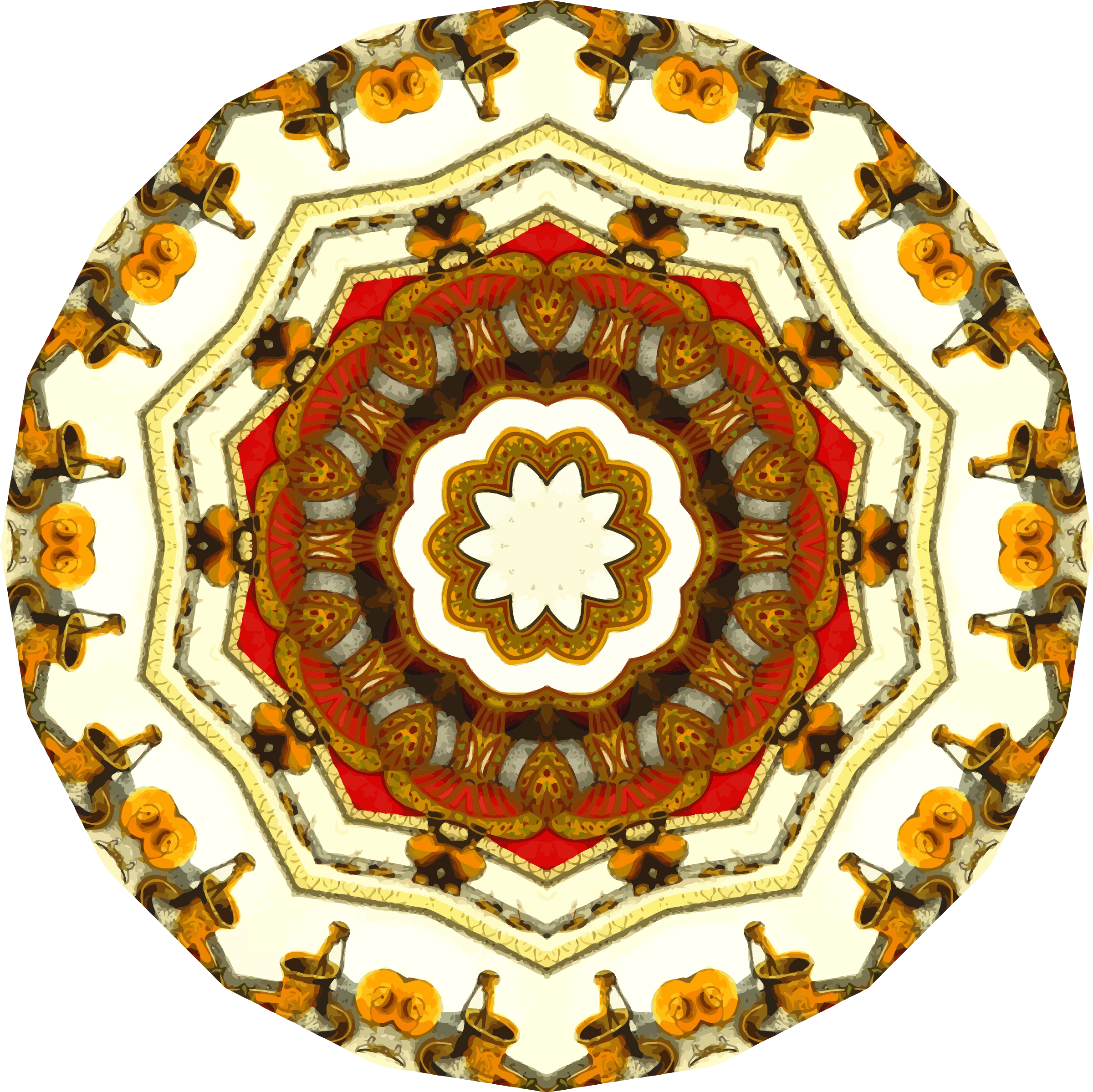 Mandala 15 by Firkin