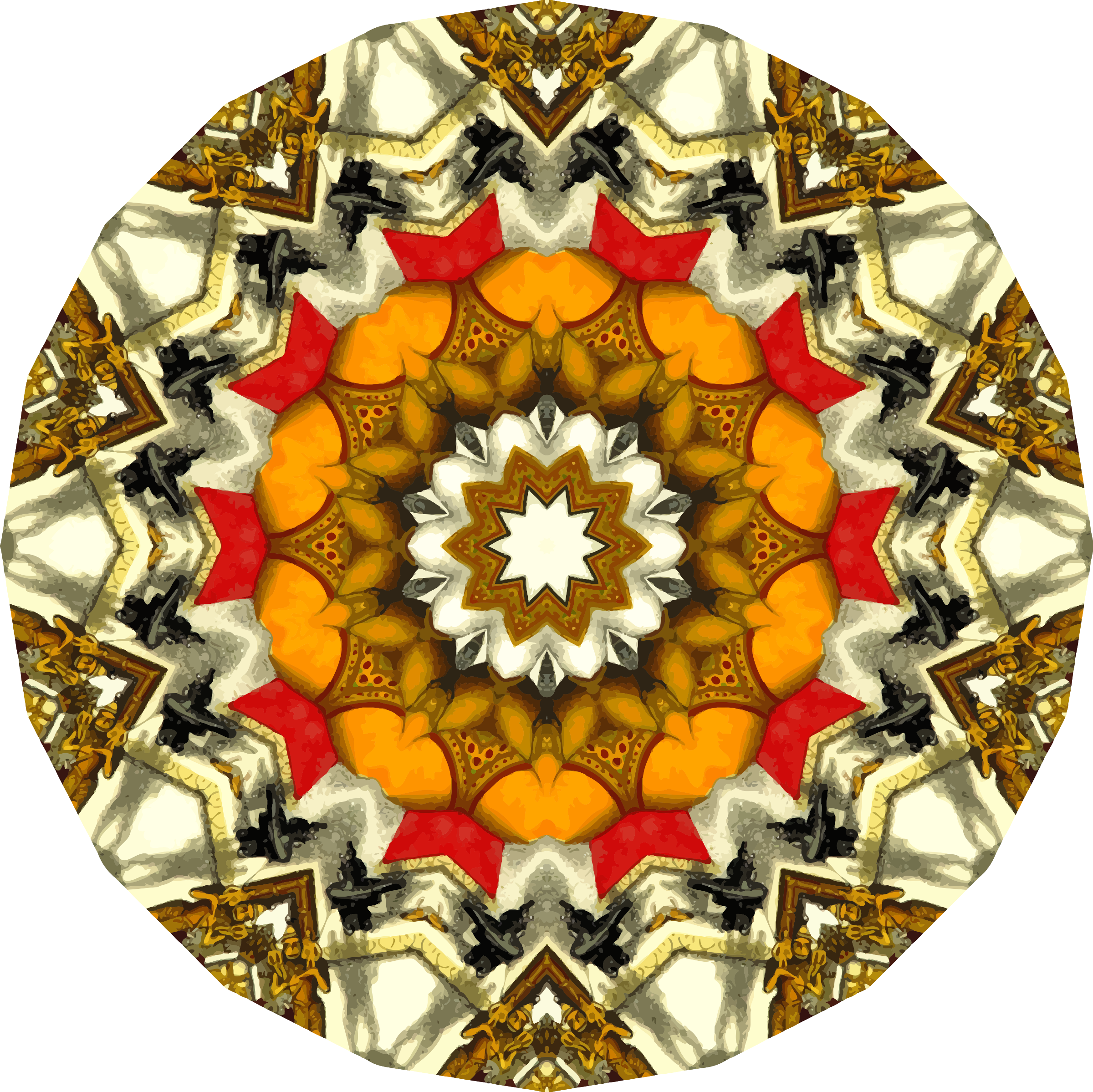 Mandala 16 by Firkin