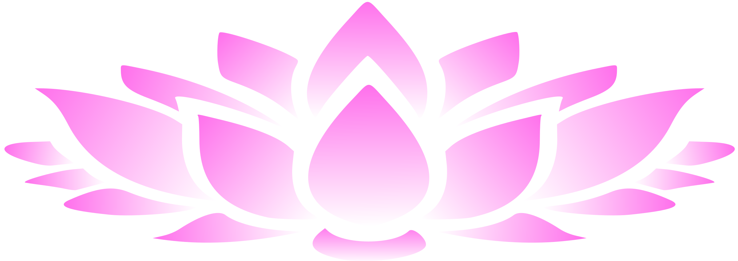 Clipart - Lotus flower 2