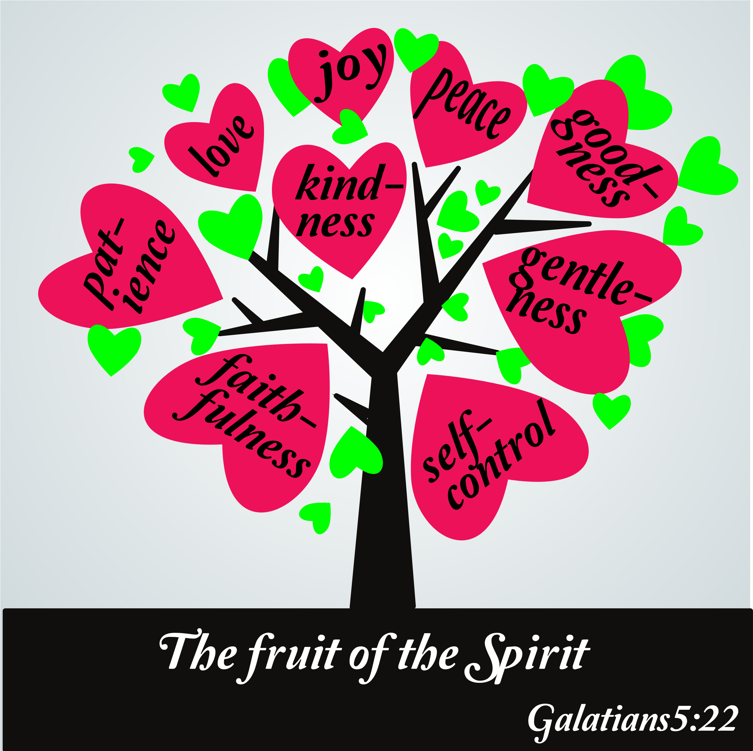 clipart the fruit of the spirit galatians 5 25 rh openclipart org fruit of the holy spirit clipart fruit of the holy spirit clipart
