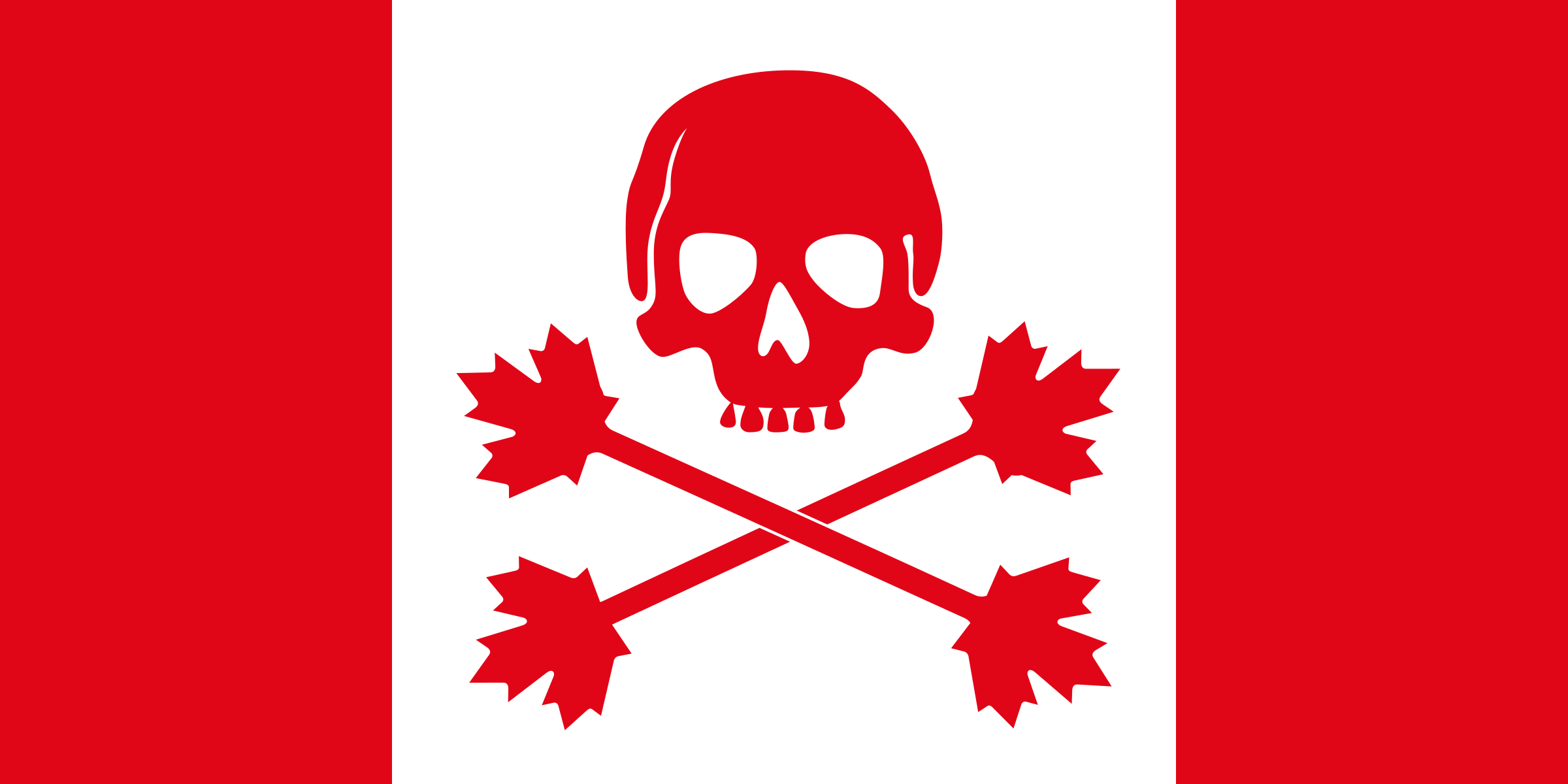 Pirate flag of Canada by dandin1