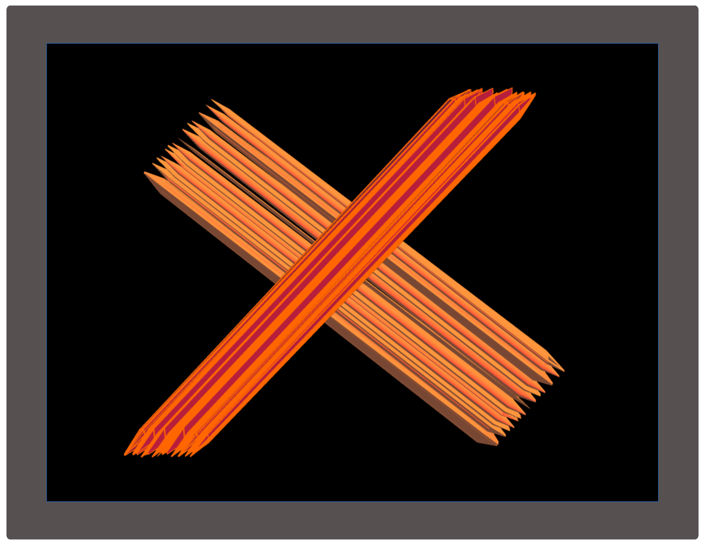 The X Symbol by zerozip