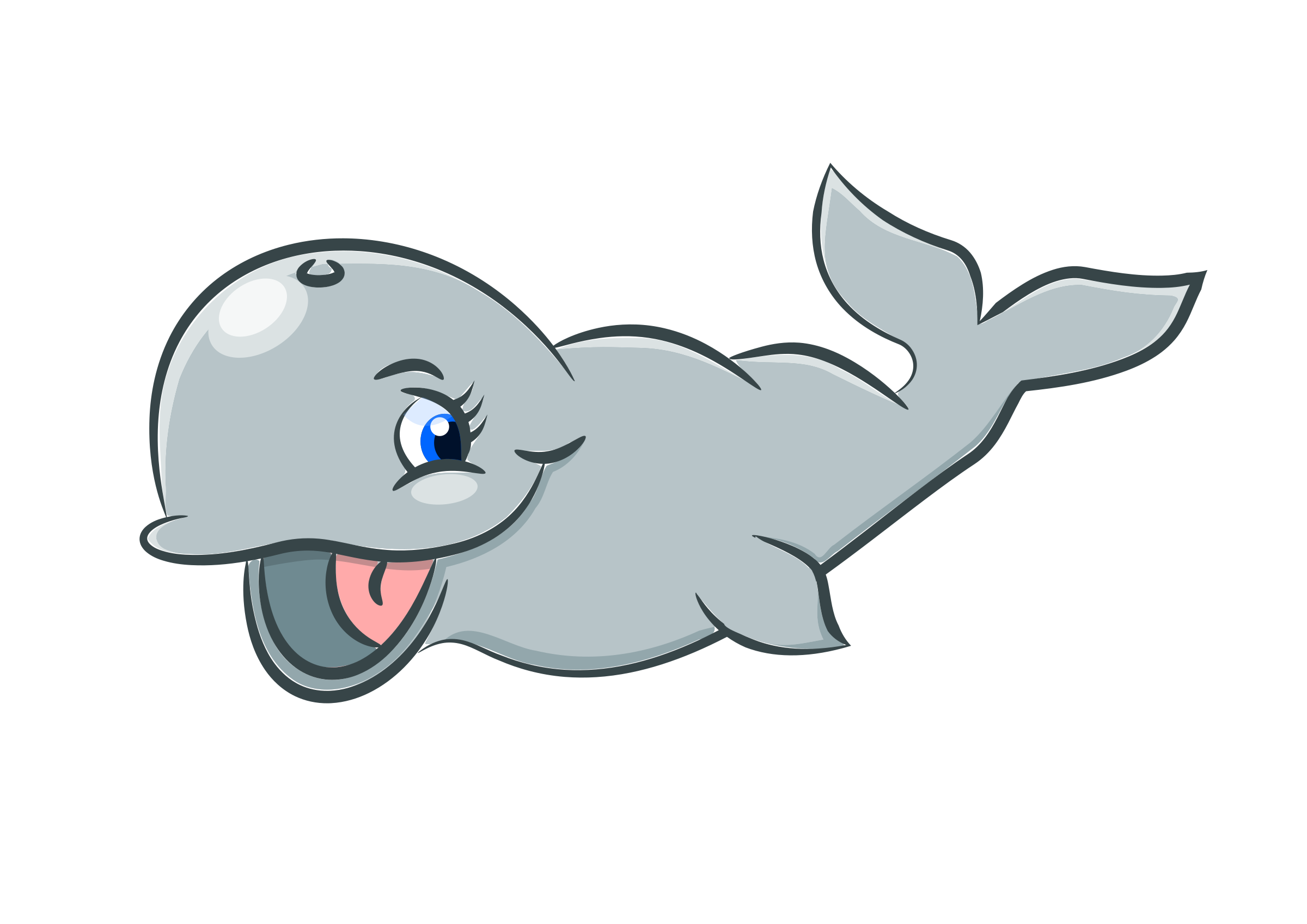 Cute whale by Susa