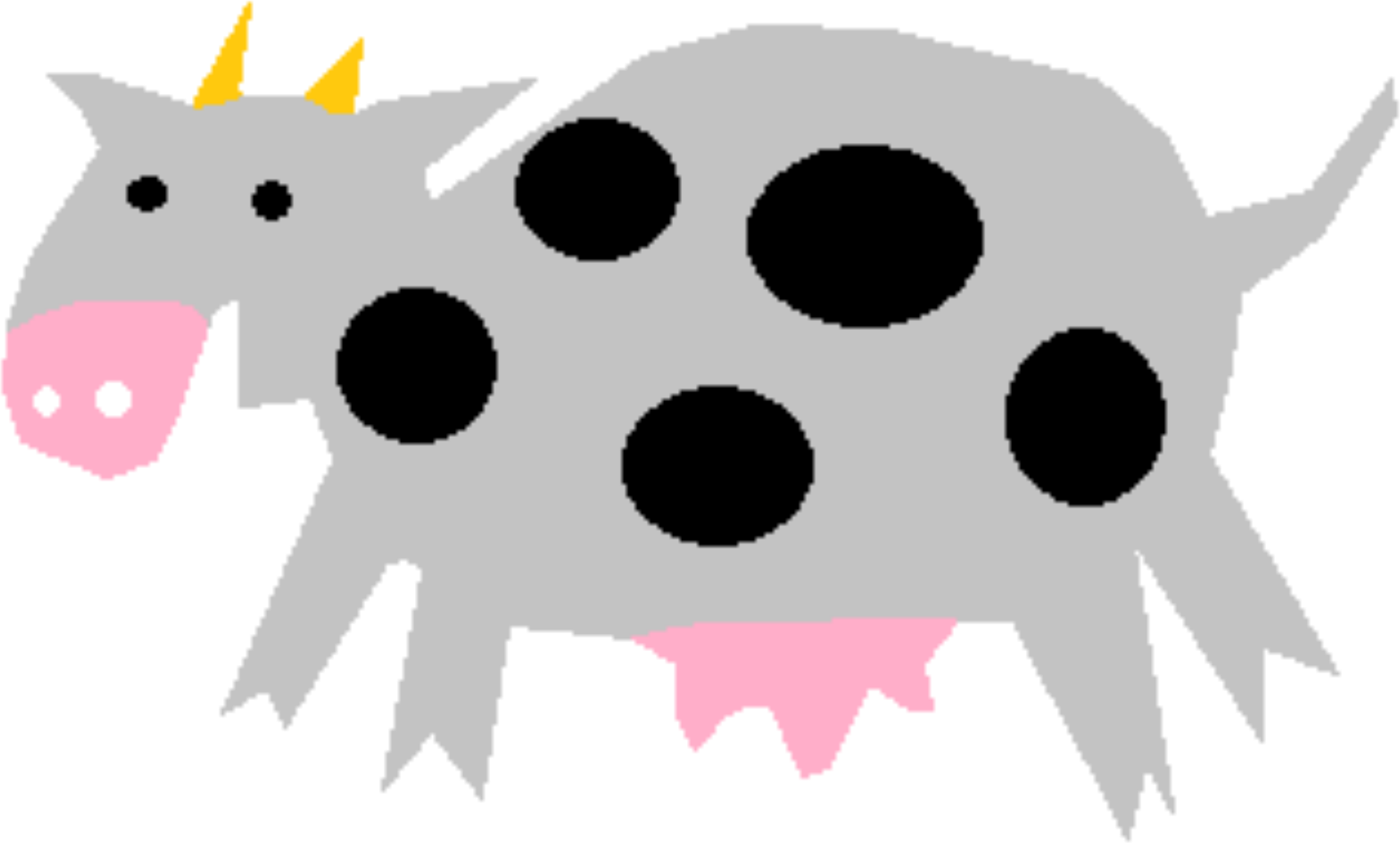 Clipart - Cow