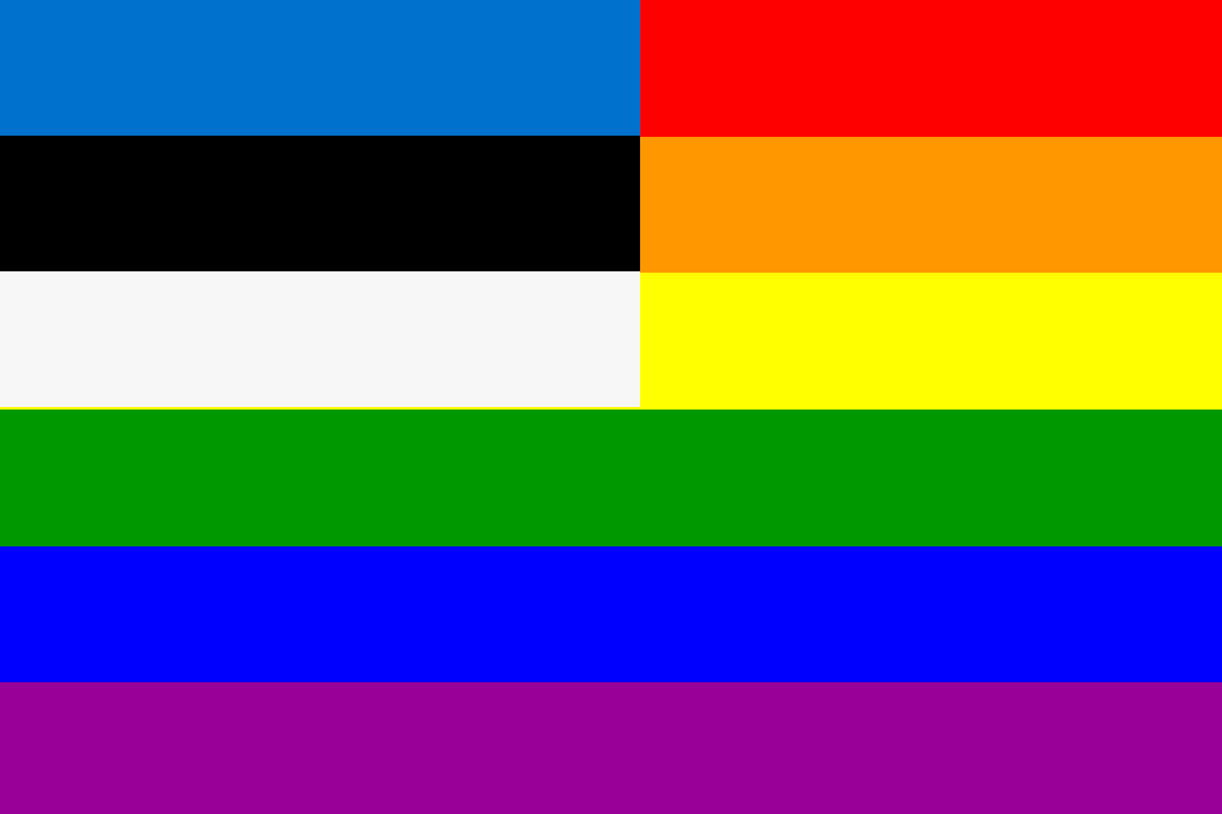 The Estonia Rainbow Flag by AdamStanislav