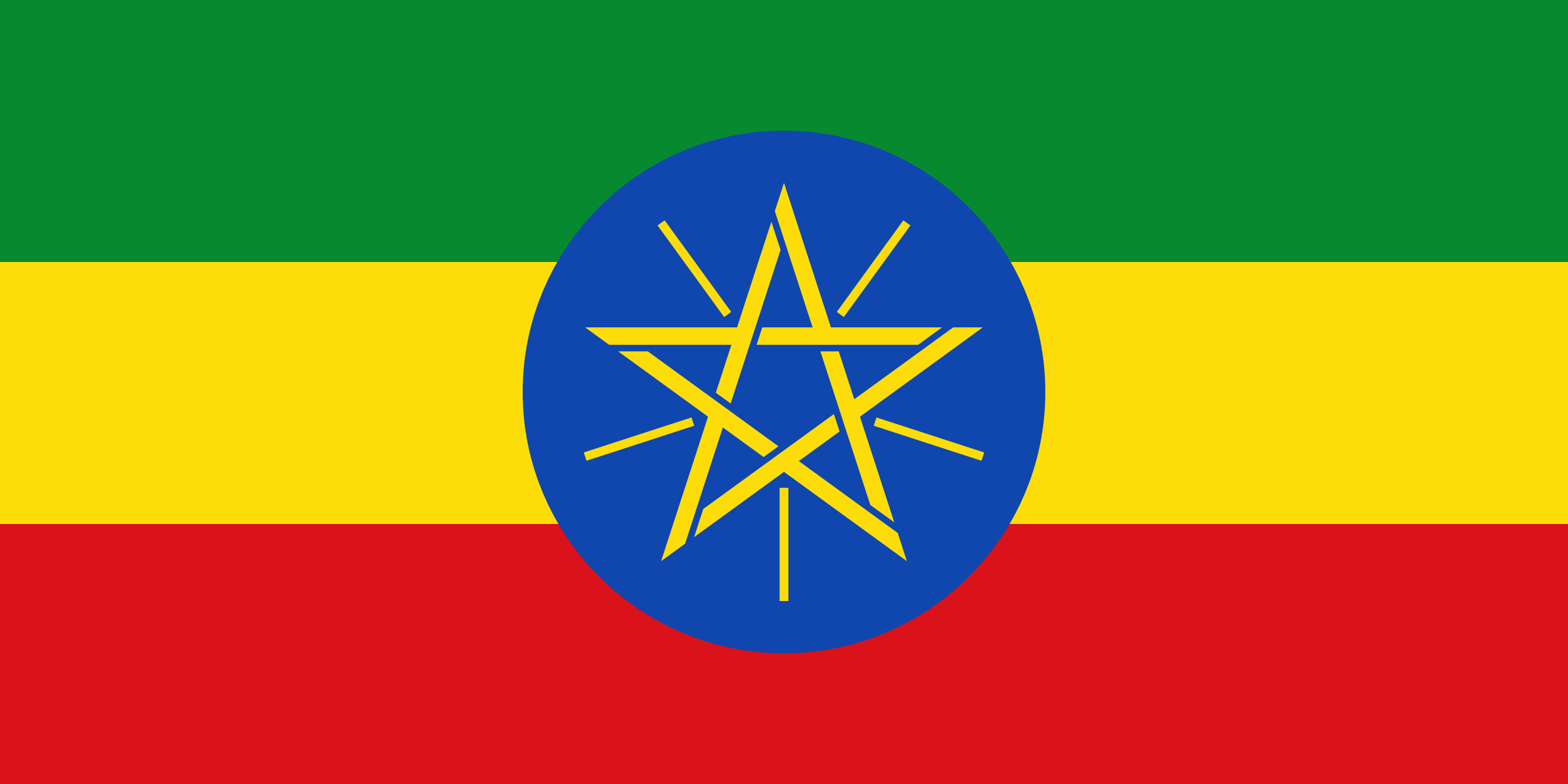 The Ethiopia Flag by AdamStanislav