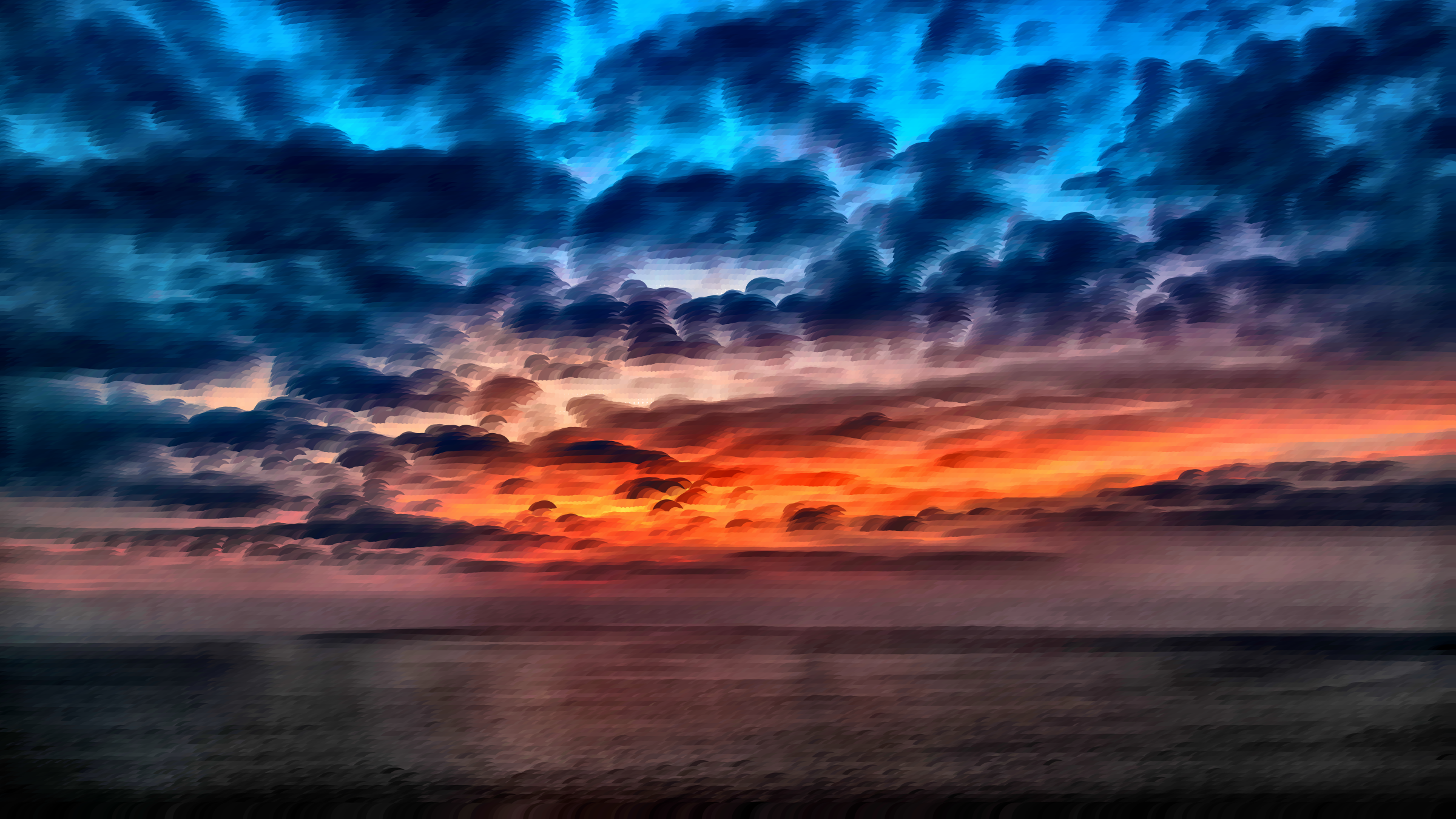 Surreal Cloudscape 5 by GDJ