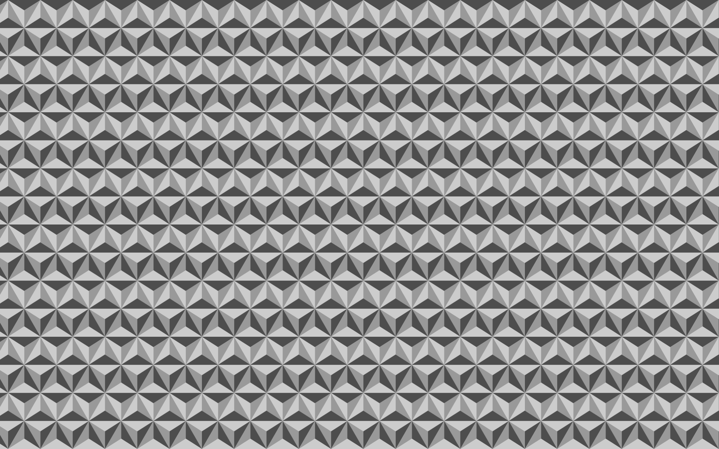 Seamless Grayscale Triangular Pattern by GDJ