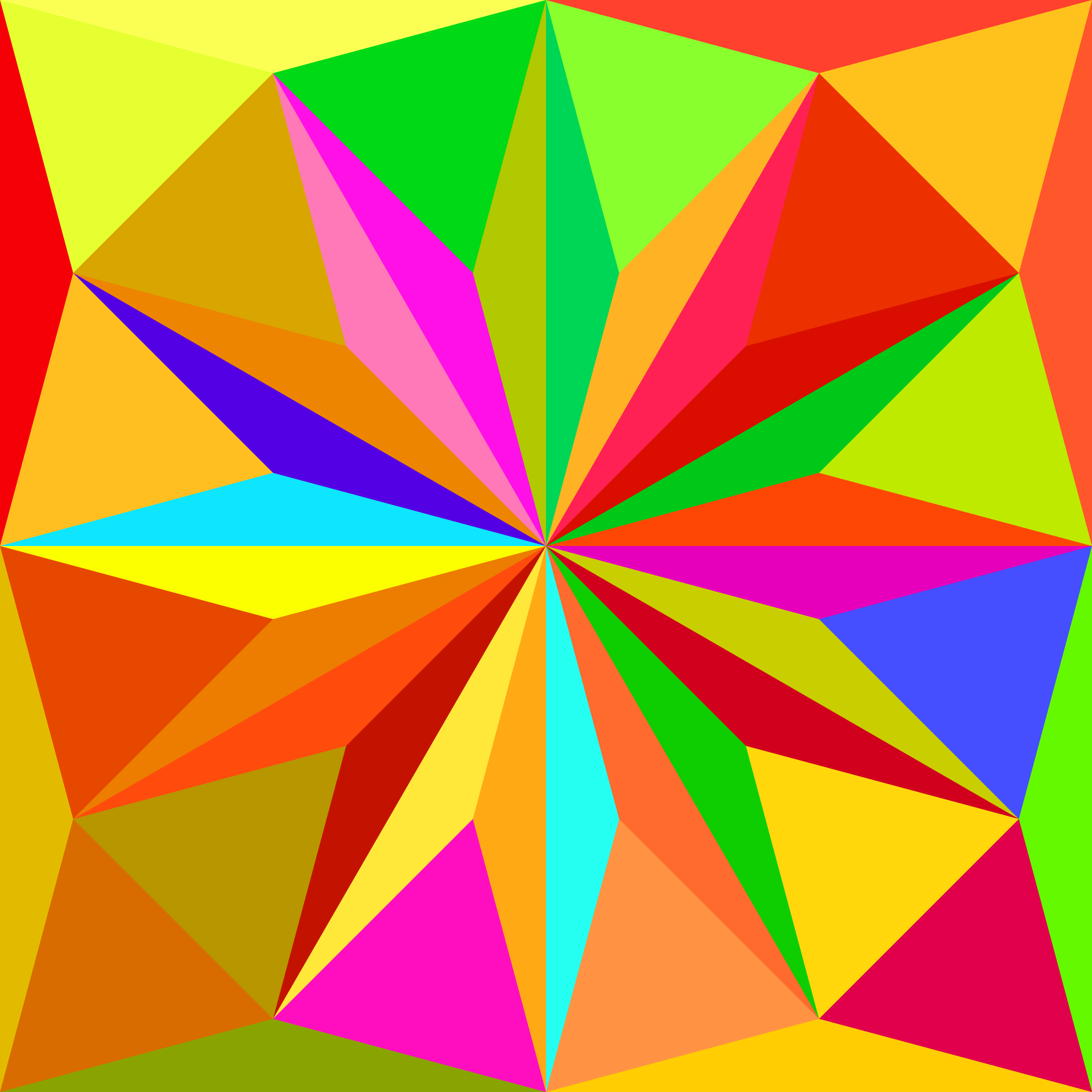 triangle tiling by Lazur URH