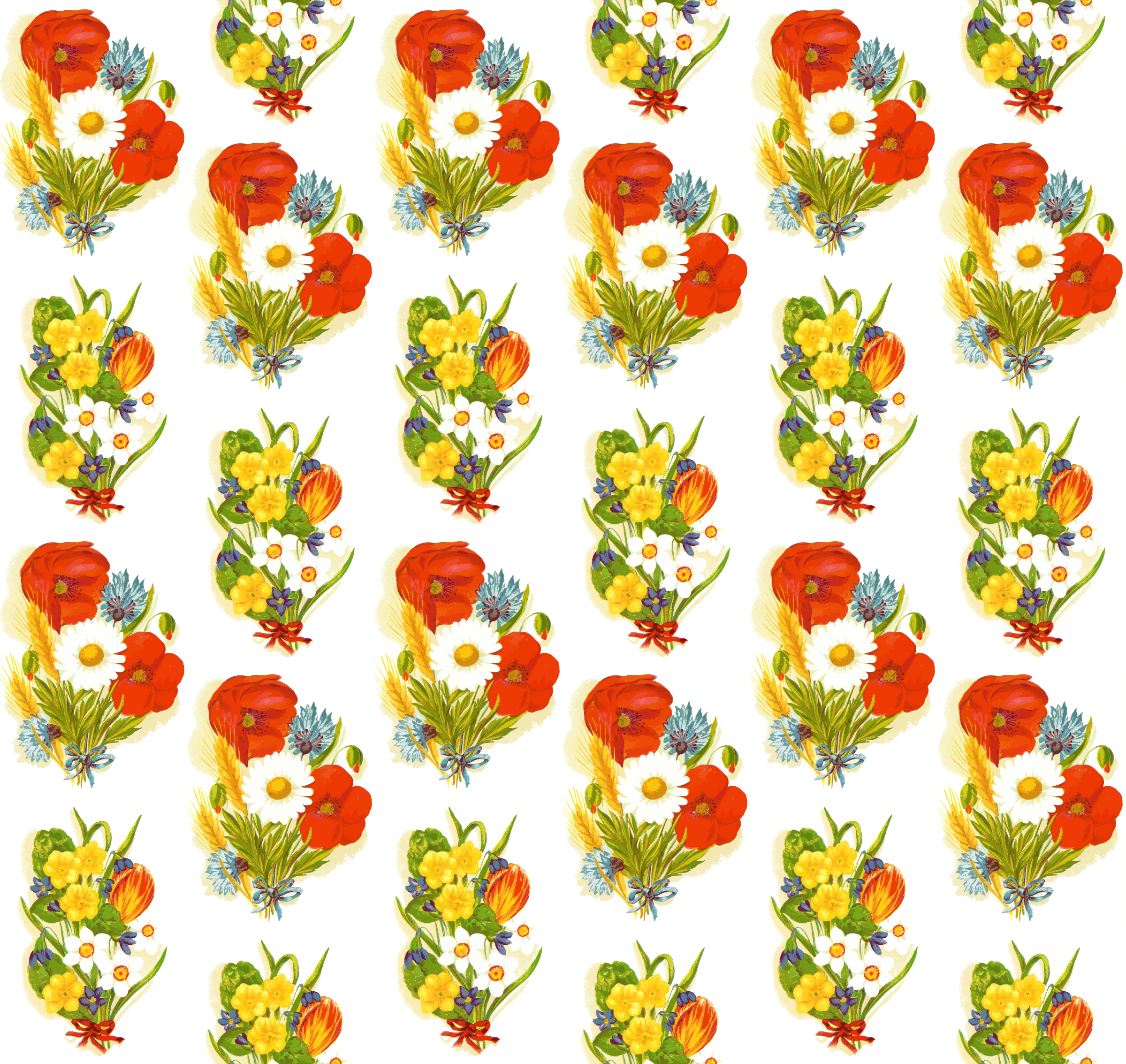 Flower pattern 4 by Firkin