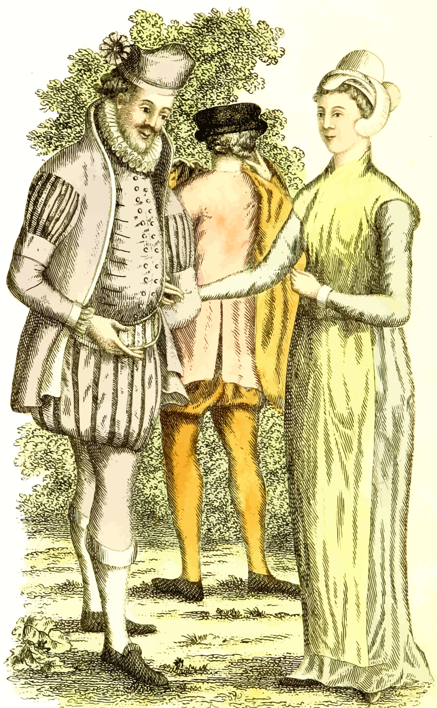 16th century dress by Firkin