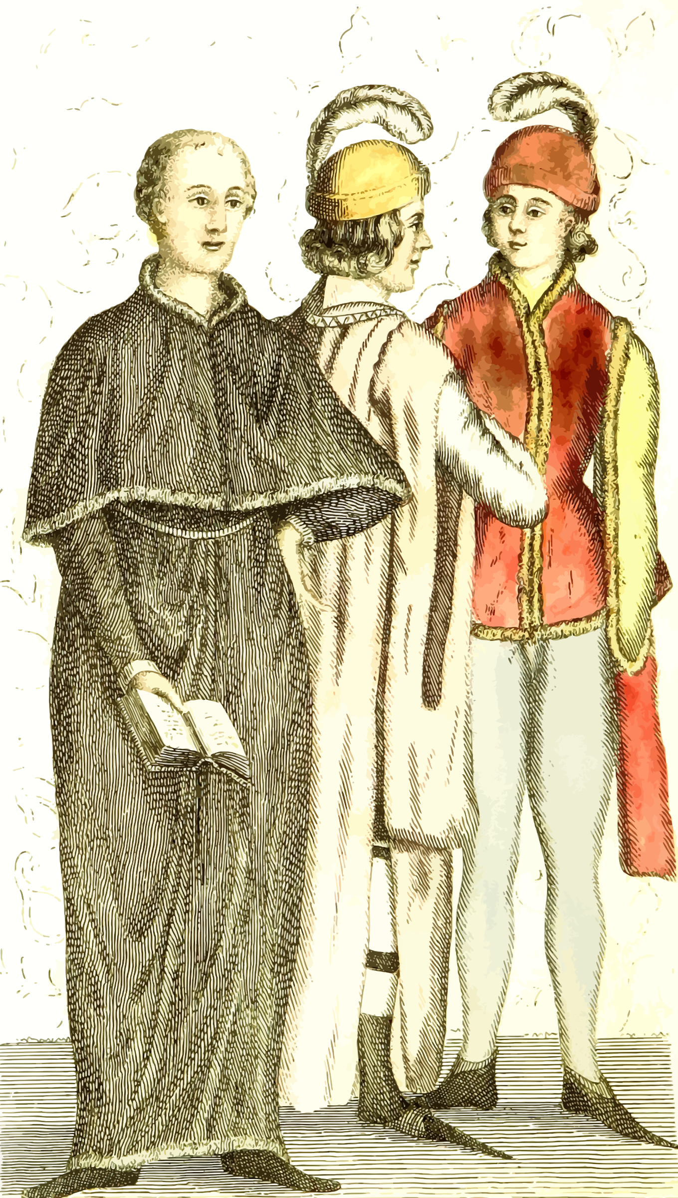 15th century dress 3 by Firkin