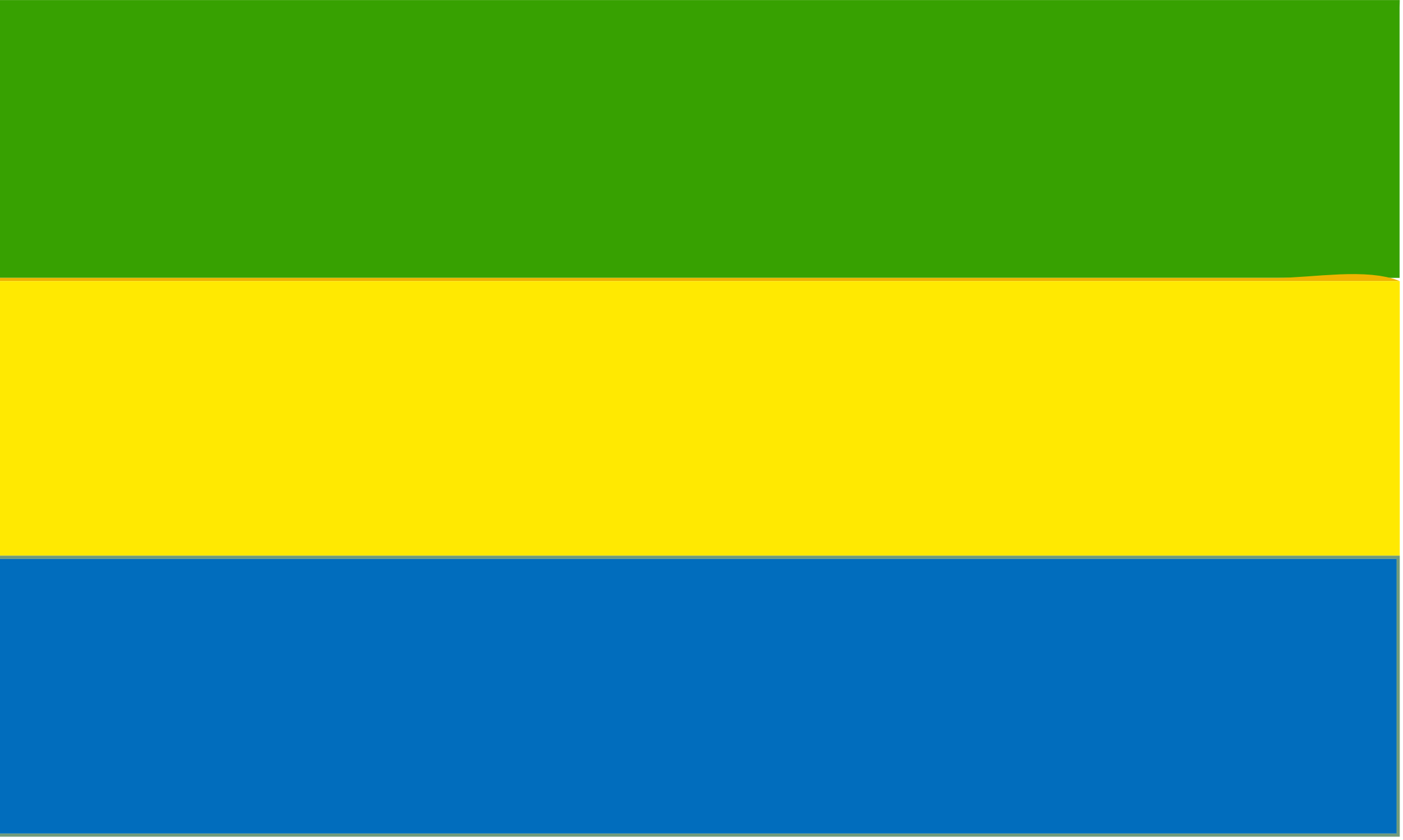 Flag of Gabon by Joesph