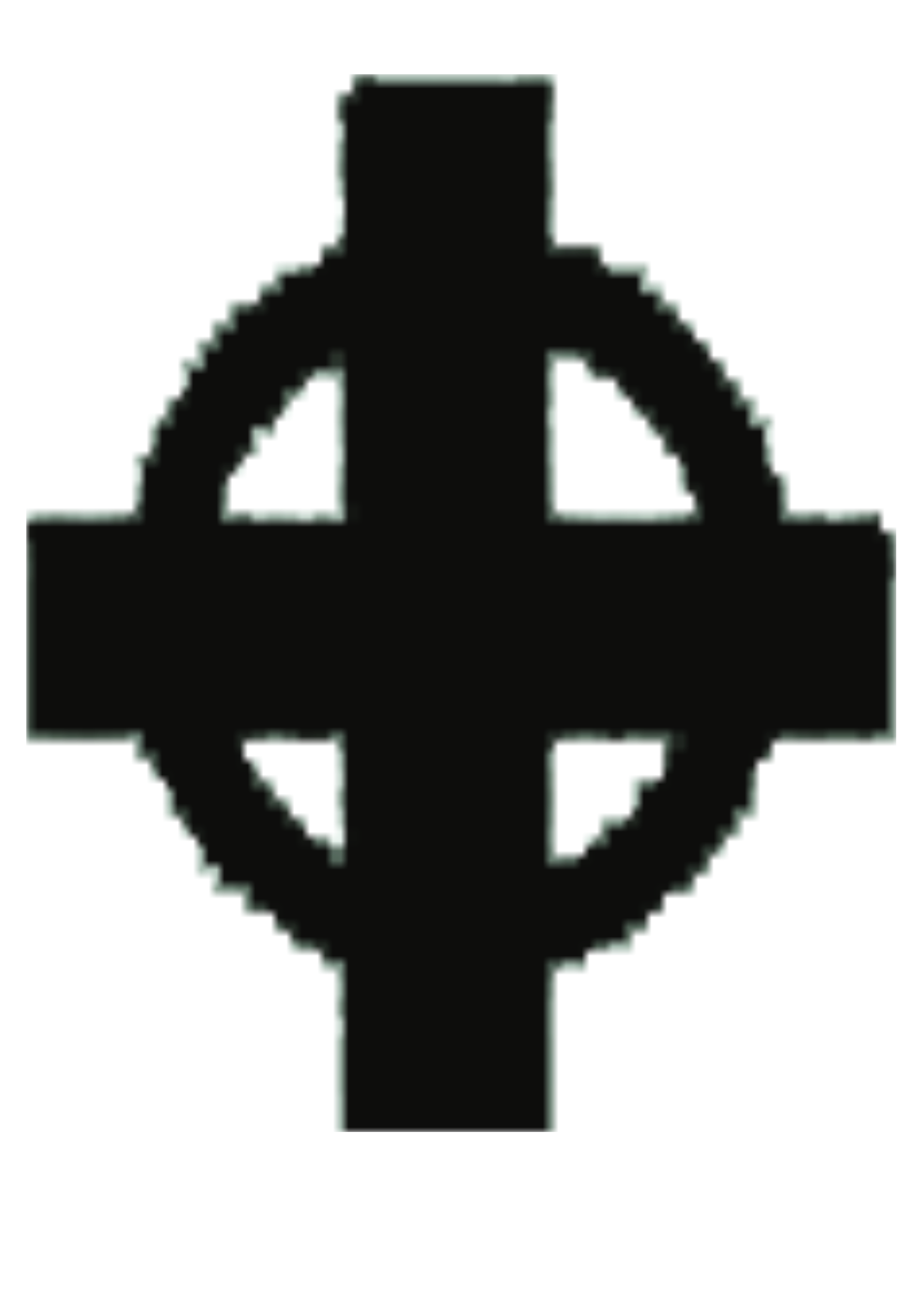 Ireland Celtic cross silhoutte by Kellierky
