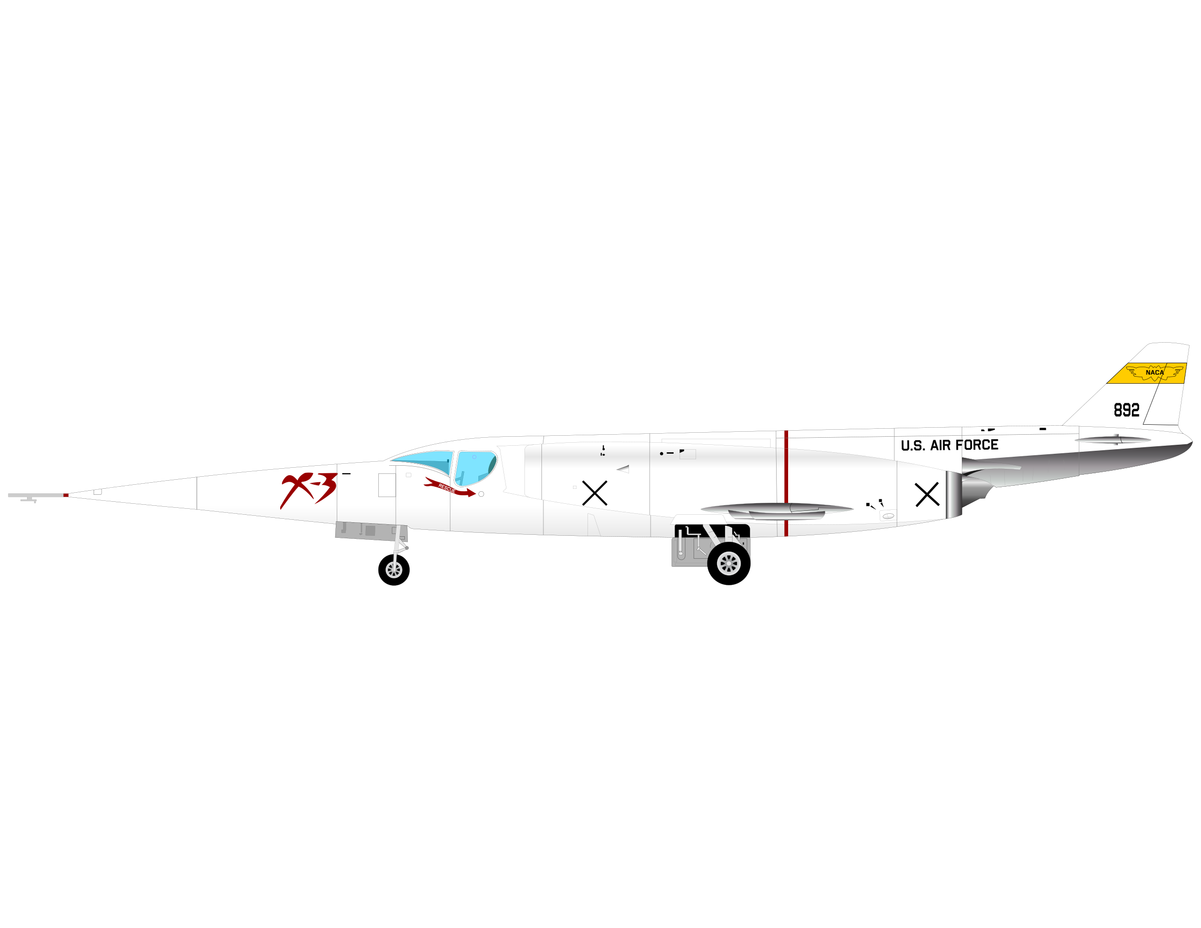 X-3 by charner1963